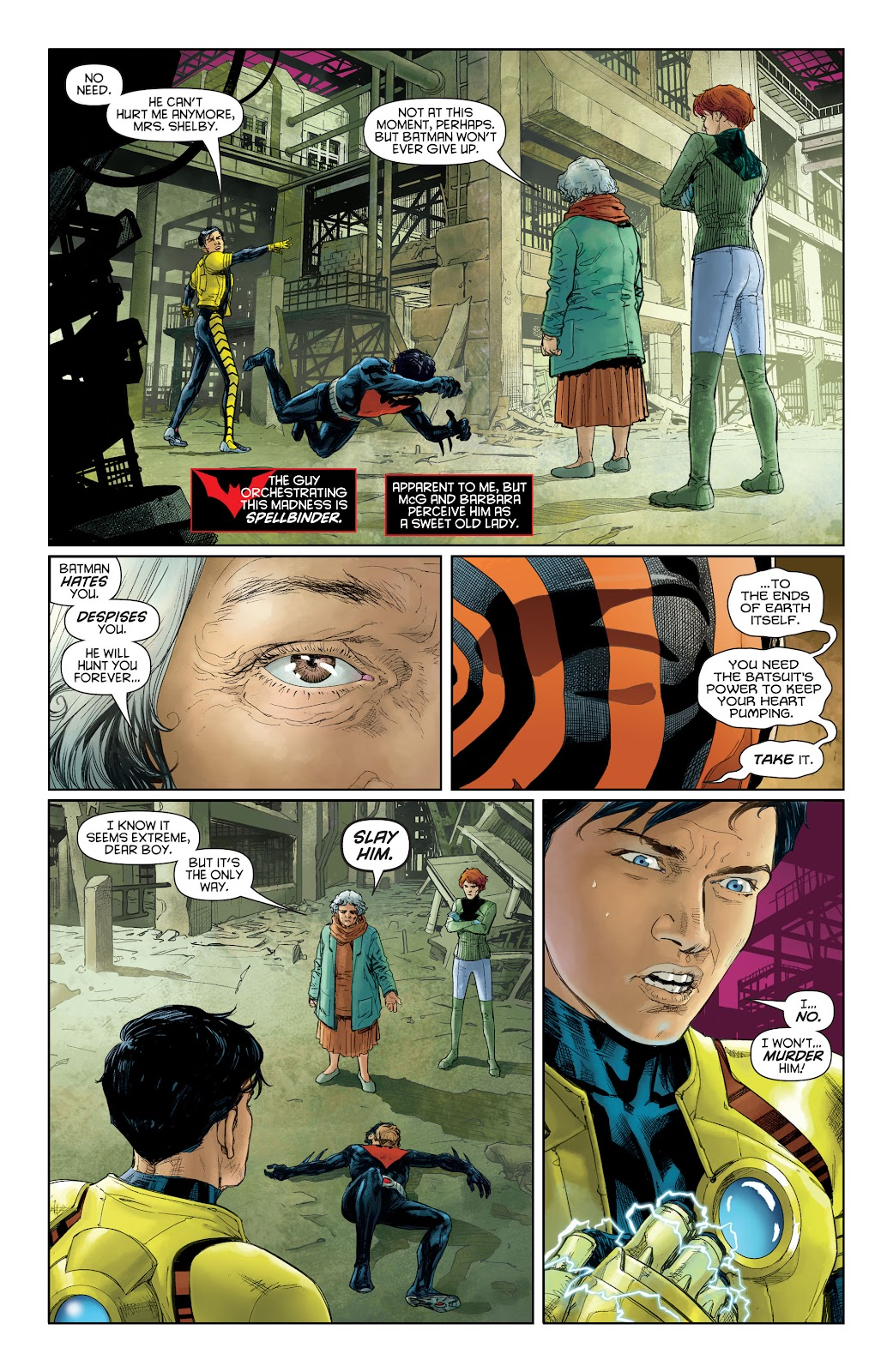 Batman Beyond (2015) Issue #16 #16 - English 4