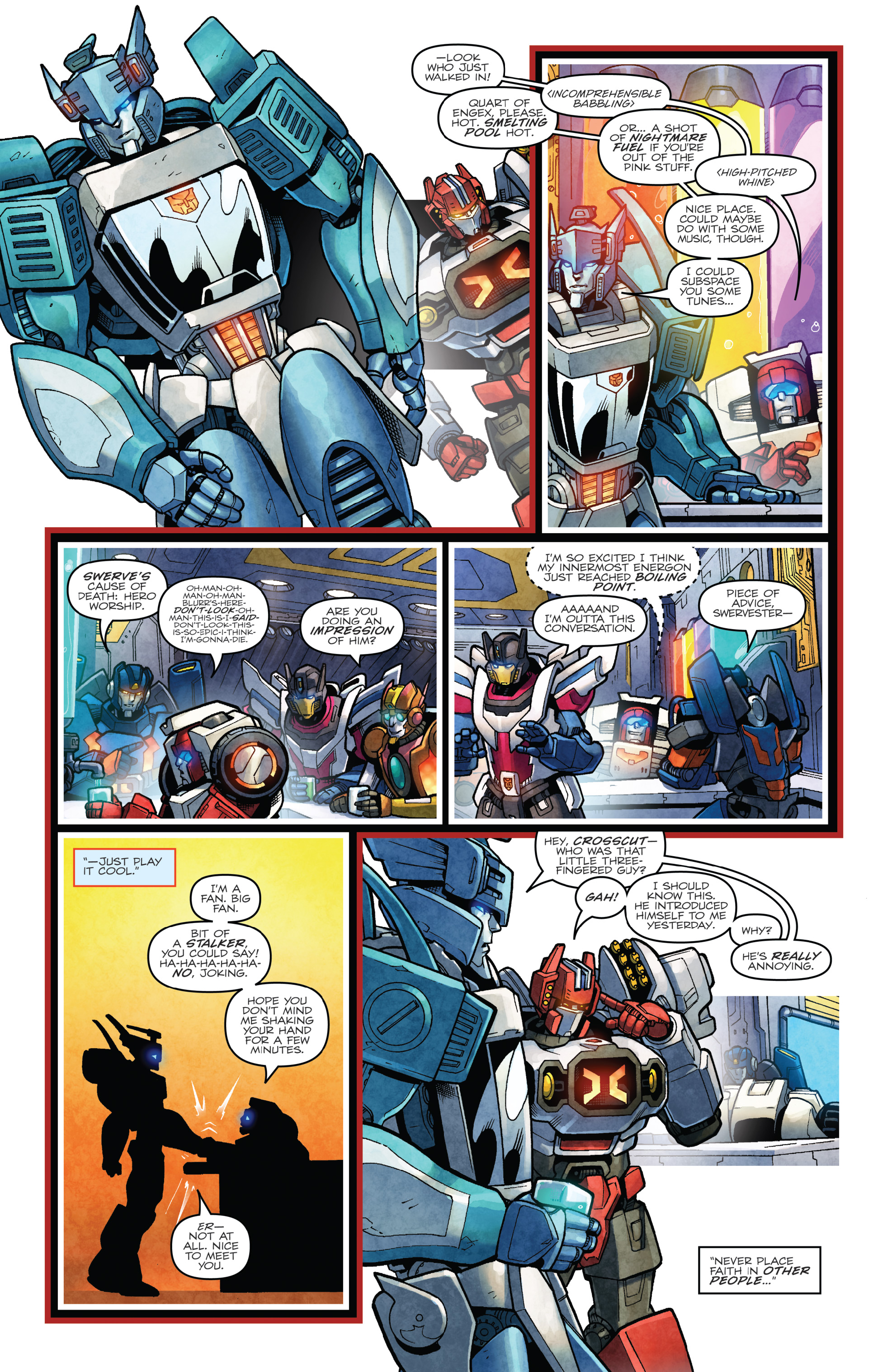 Read online The Transformers: Dark Cybertron Finale comic -  Issue # Full - 87