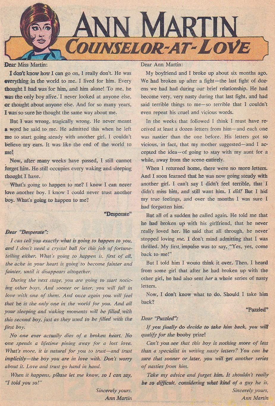 Read online Secret Hearts comic -  Issue #124 - 34