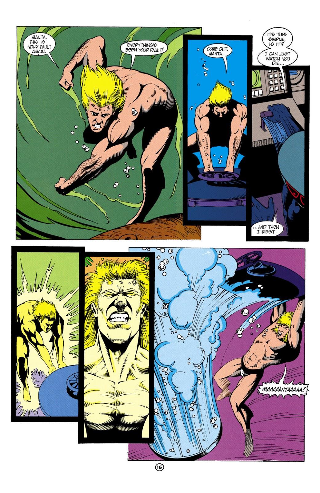 Aquaman (1991) Issue #6 #6 - English 17