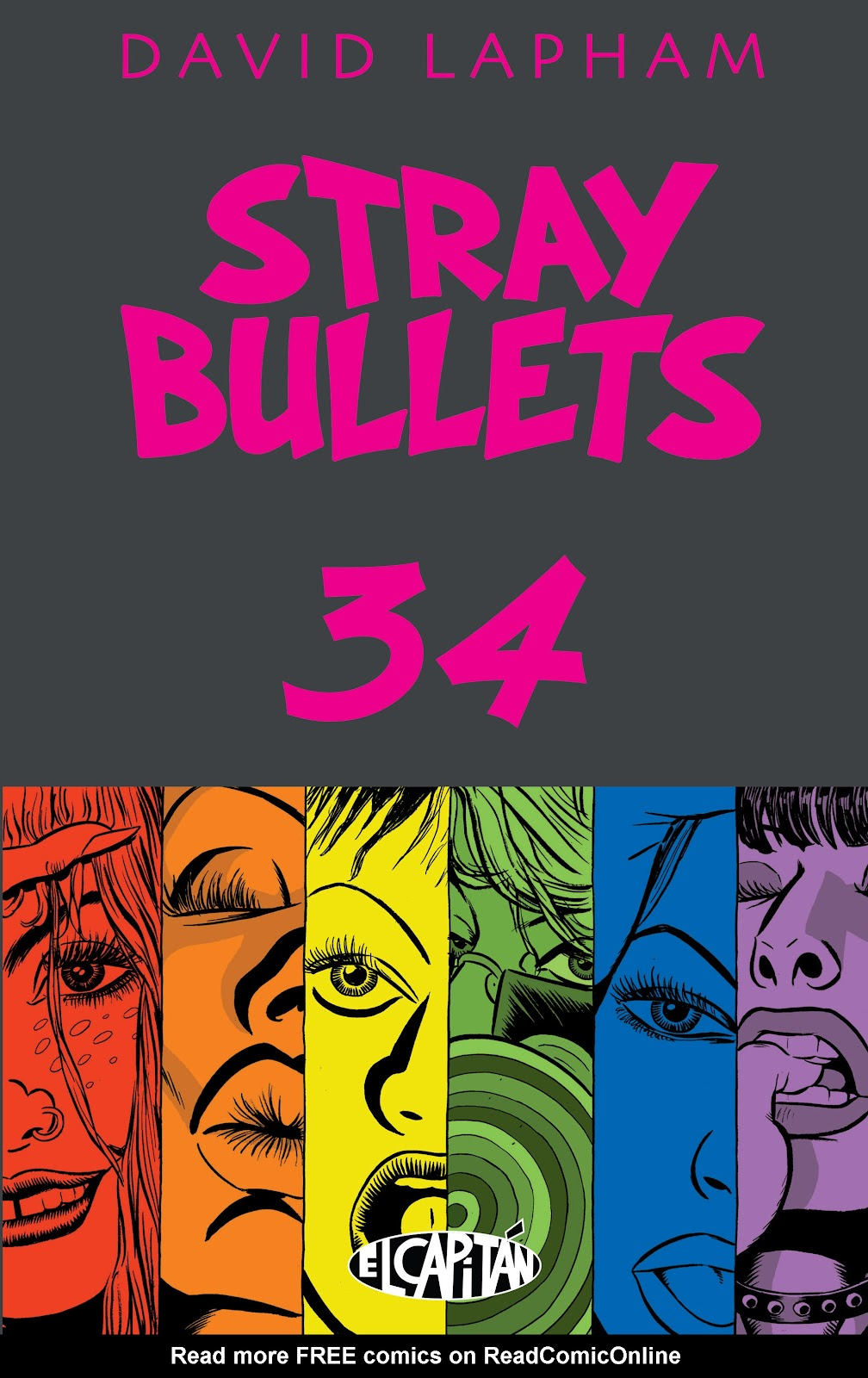Stray Bullets Issue #34 #34 - English 1