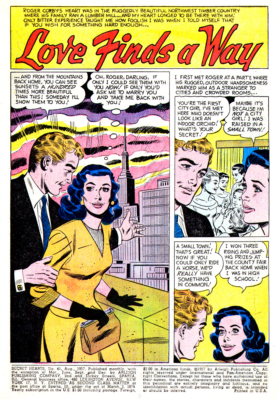Read online Secret Hearts comic -  Issue #41 - 3
