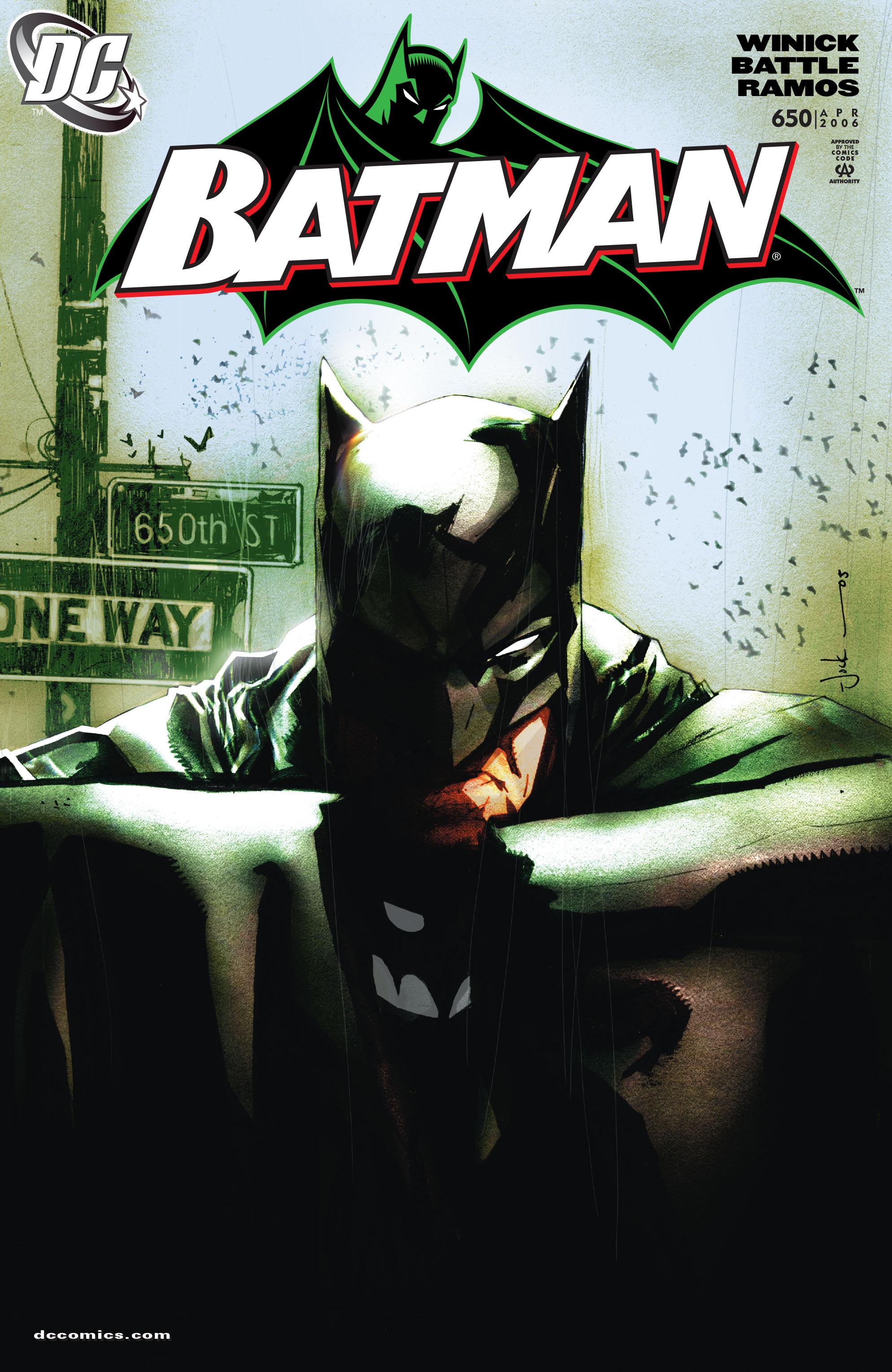 Batman (1940) 650 Page 1