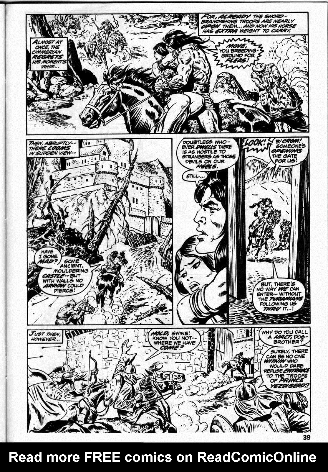 The Savage Sword Of Conan Issue #59 #60 - English 46