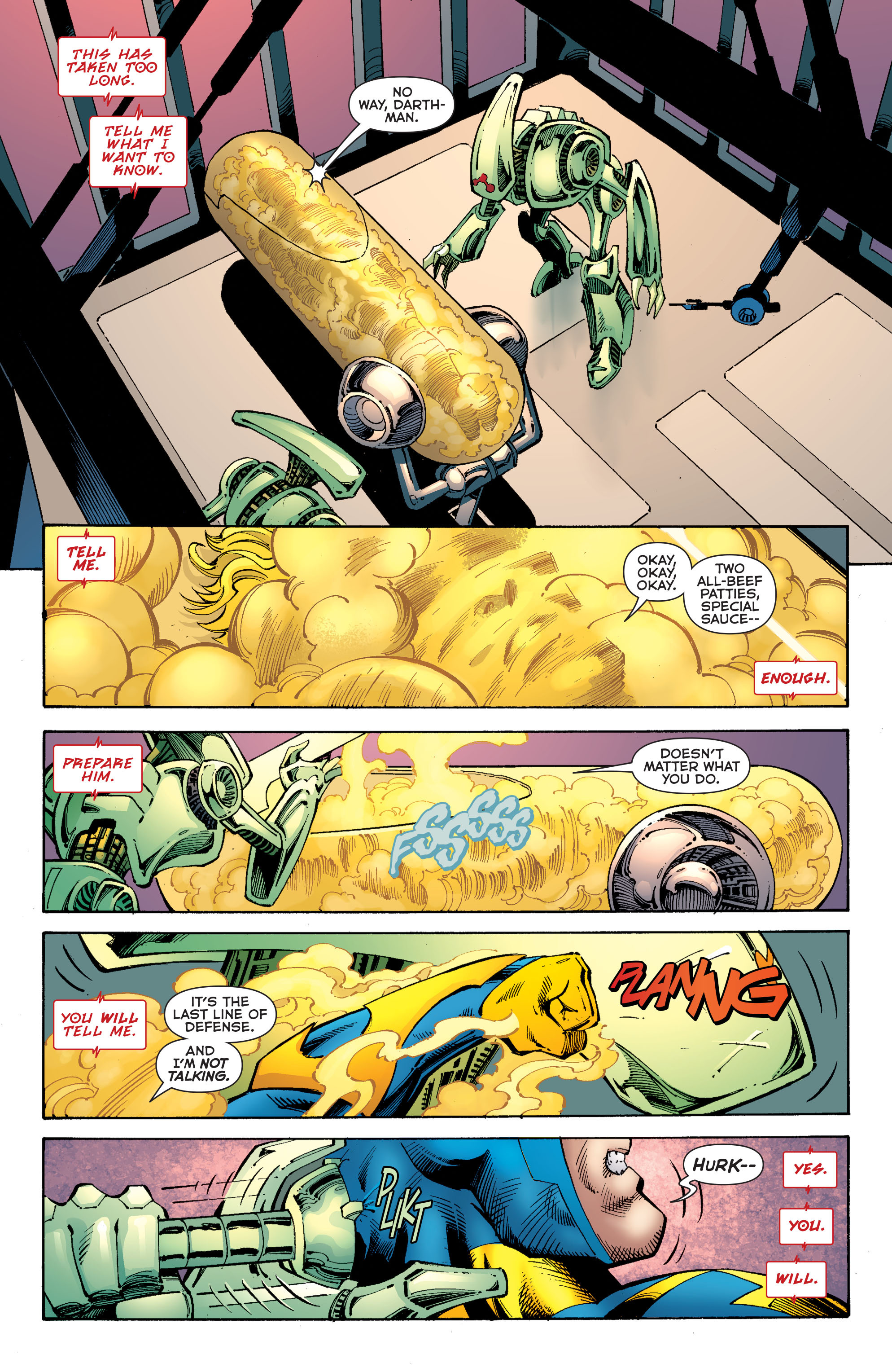 Read online Booster Gold: Futures End comic -  Issue # Full - 6