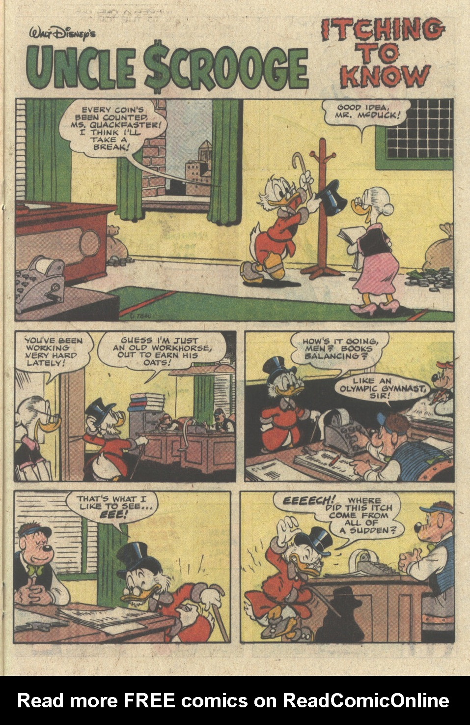 Uncle Scrooge (1953) Issue #235 #235 - English 21