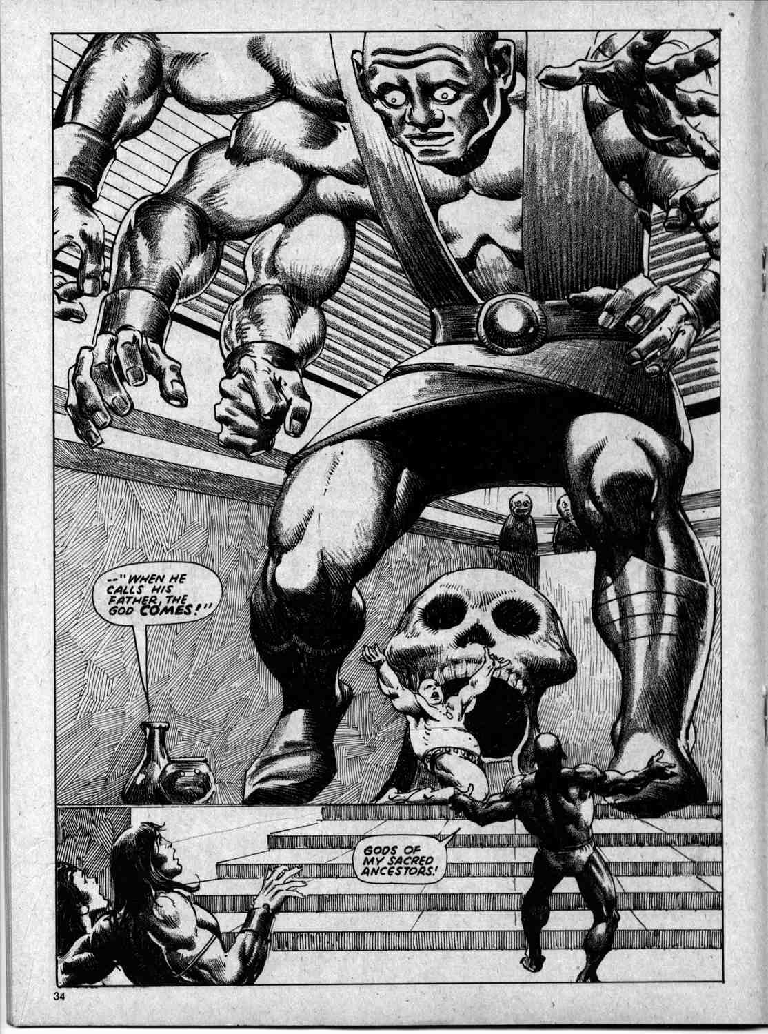 The Savage Sword Of Conan Issue #59 #60 - English 34