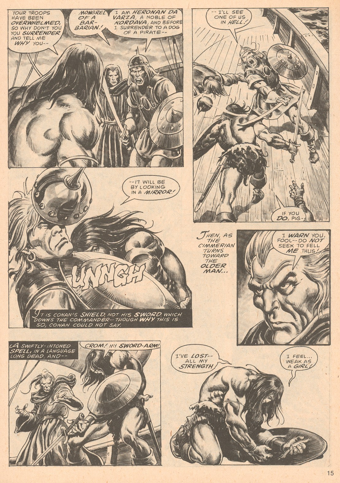 The Savage Sword Of Conan Issue #67 #68 - English 15