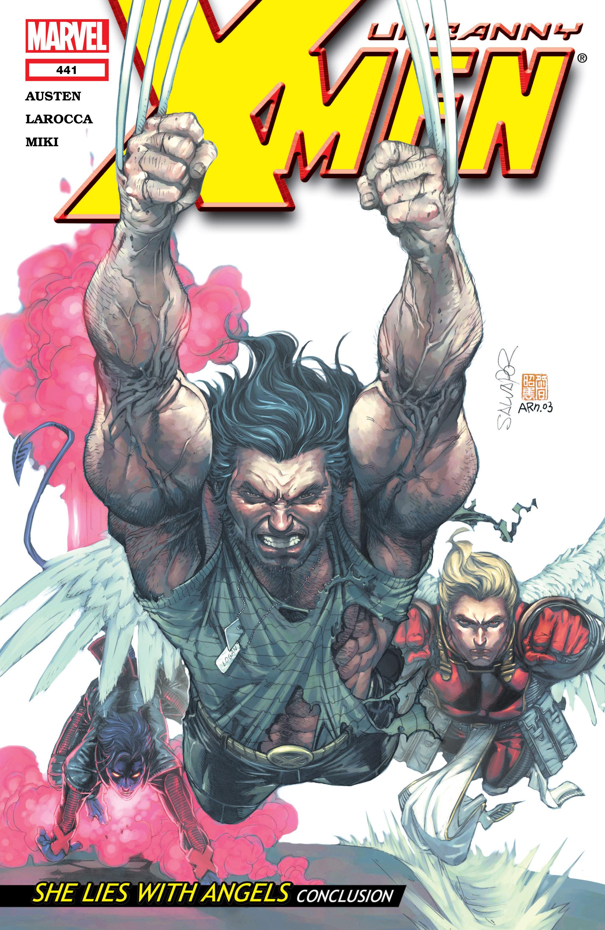 Uncanny X-Men (1963) 441 Page 1
