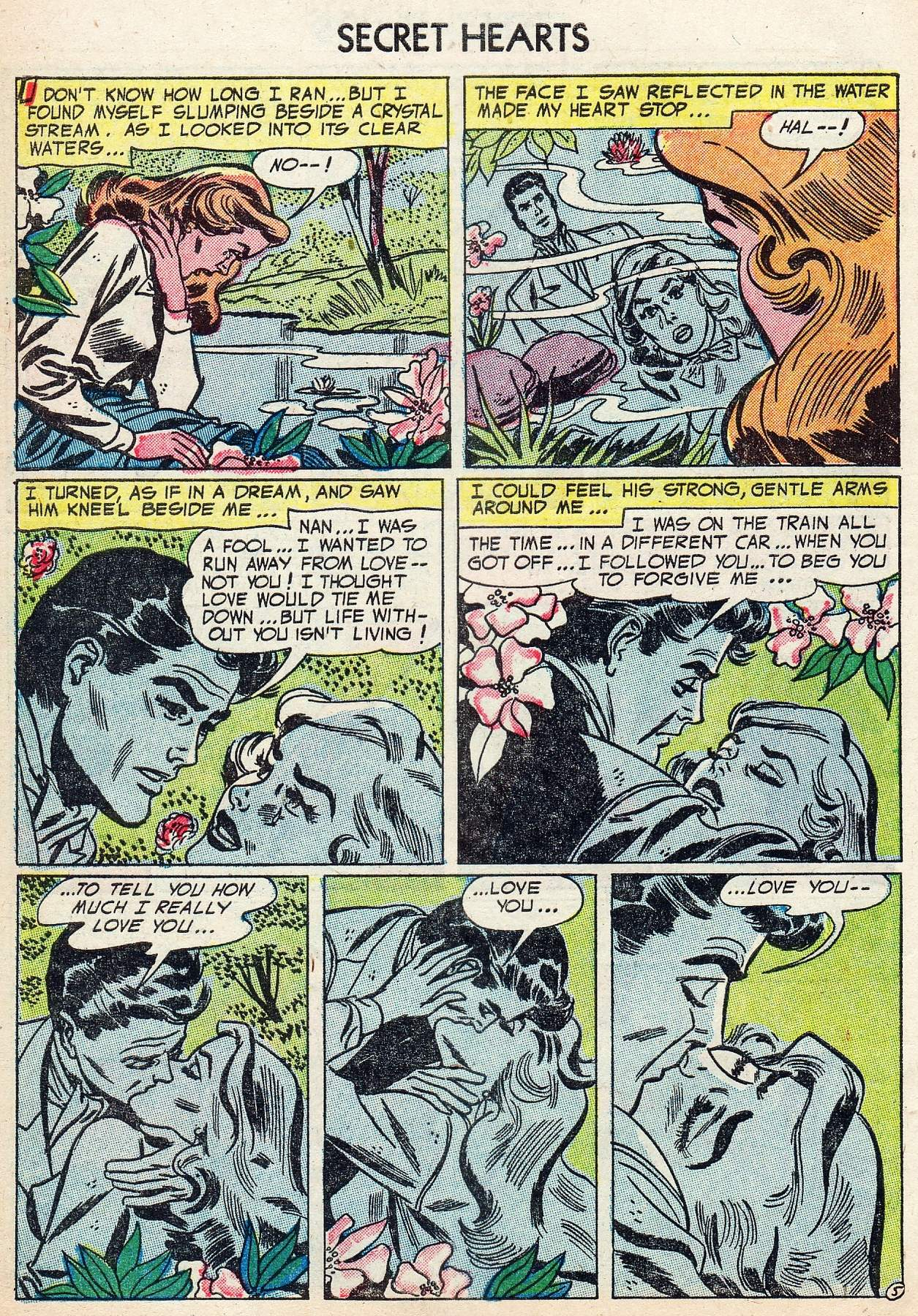 Read online Secret Hearts comic -  Issue #25 - 30