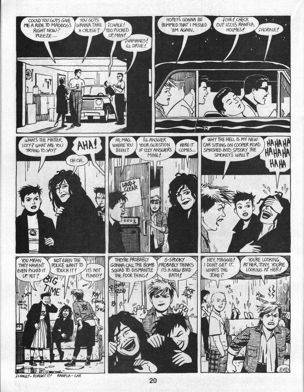 Love and Rockets (1982) Issue #14 #13 - English 22
