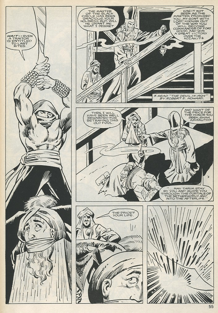 The Savage Sword Of Conan Issue #131 #132 - English 55
