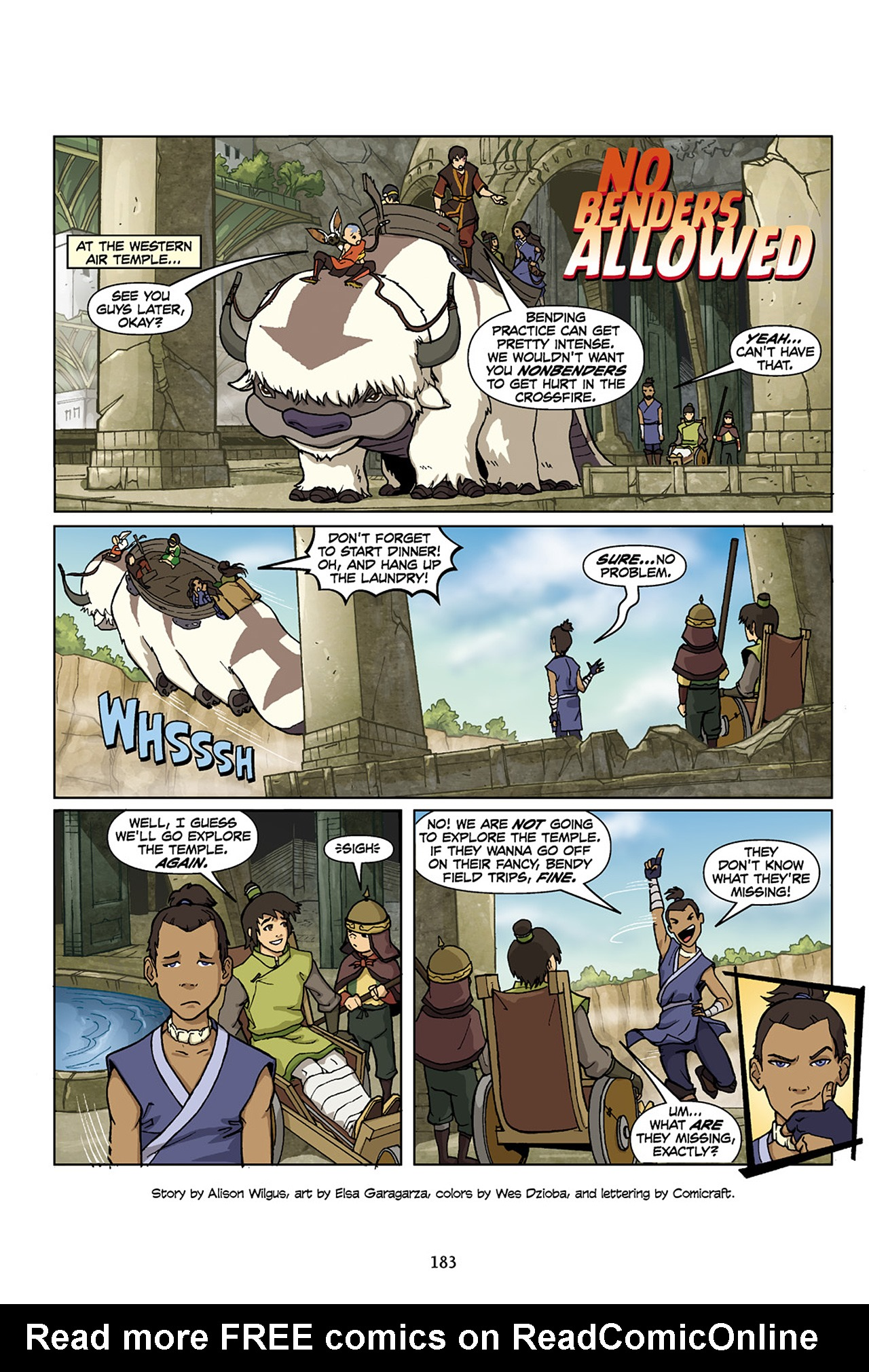 Nickelodeon Avatar: The Last Airbender - The Lost Adventures chap full pic 184