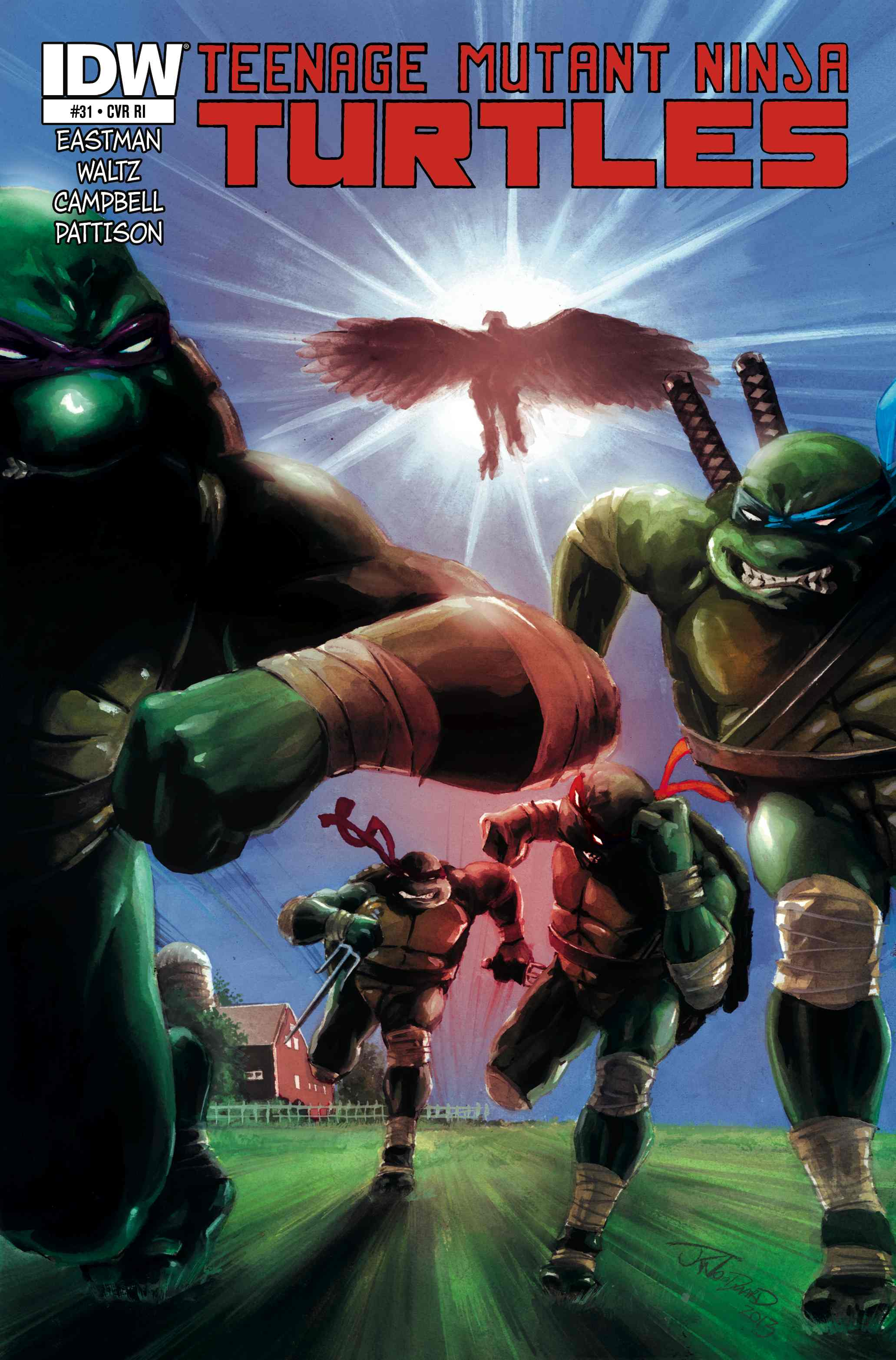 Read online Teenage Mutant Ninja Turtles (2011) comic -  Issue #31 - 3