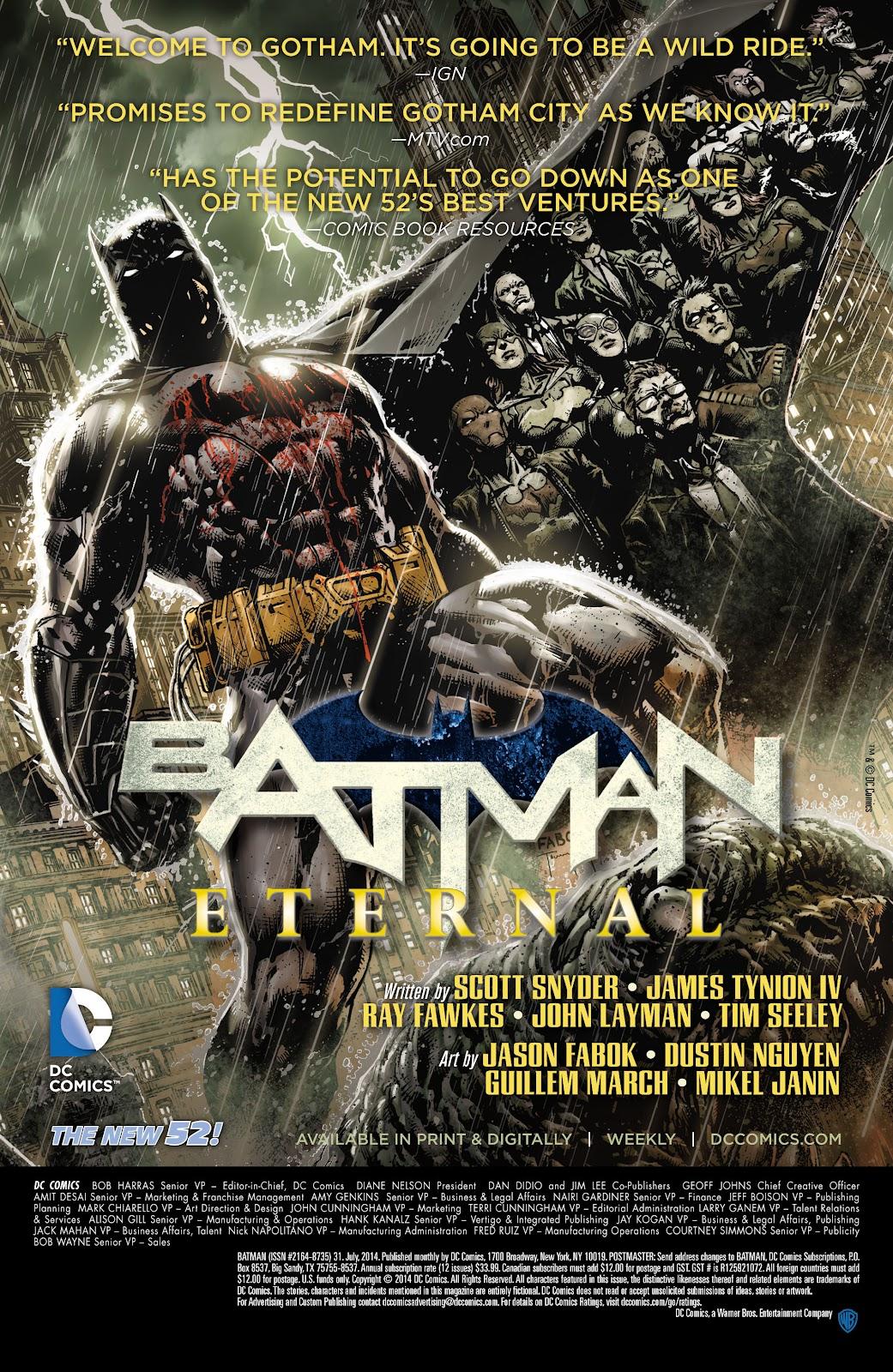 Batman (2011) Issue #31 #50 - English 26