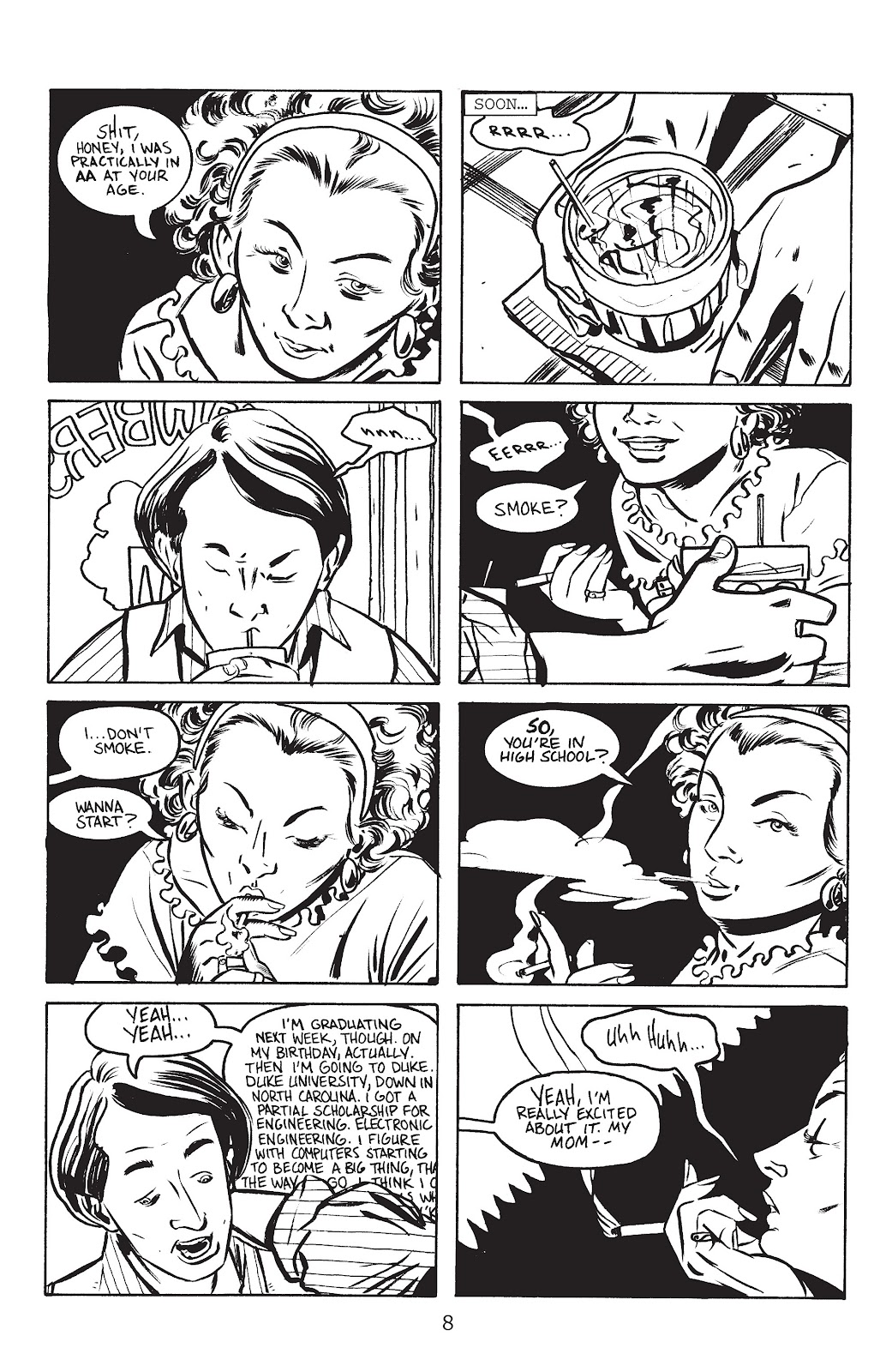 Stray Bullets Issue #5 #5 - English 10