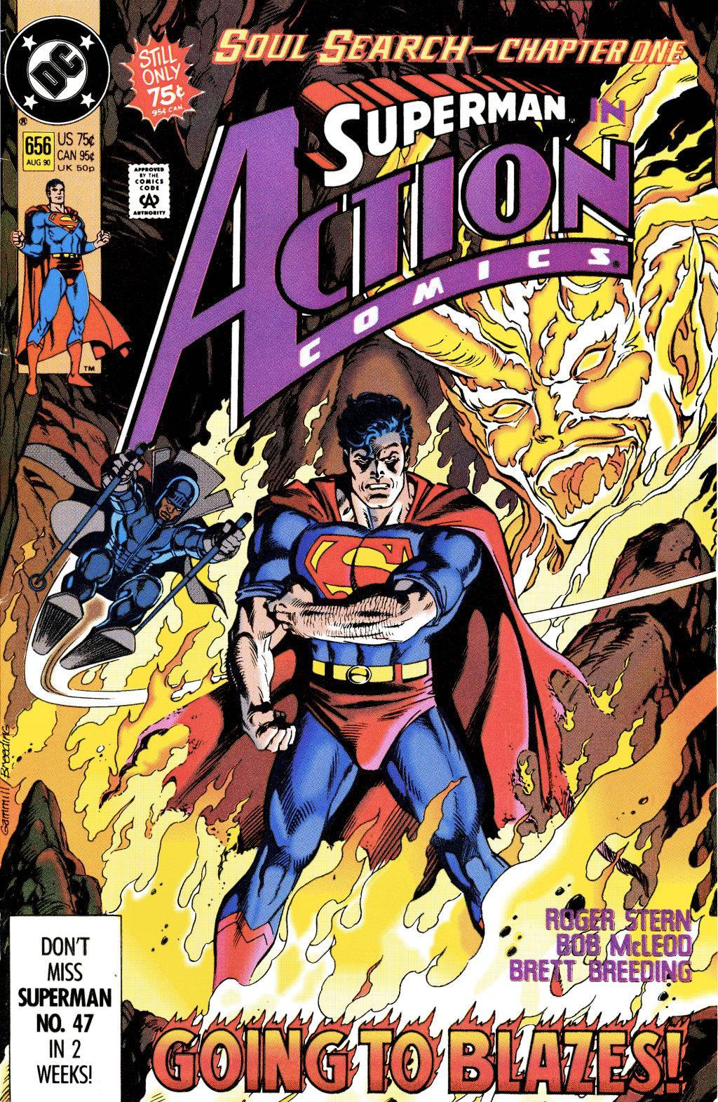 Action Comics (1938) 656 Page 1