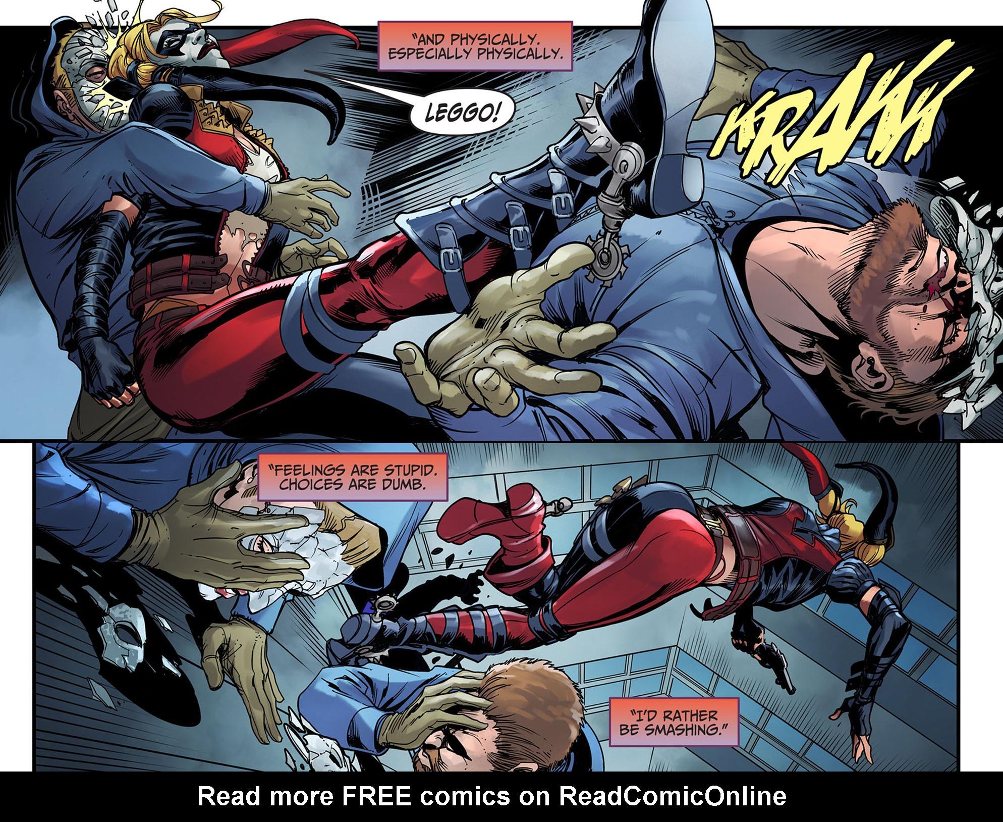 Read online Injustice: Ground Zero comic -  Issue #6 - 9