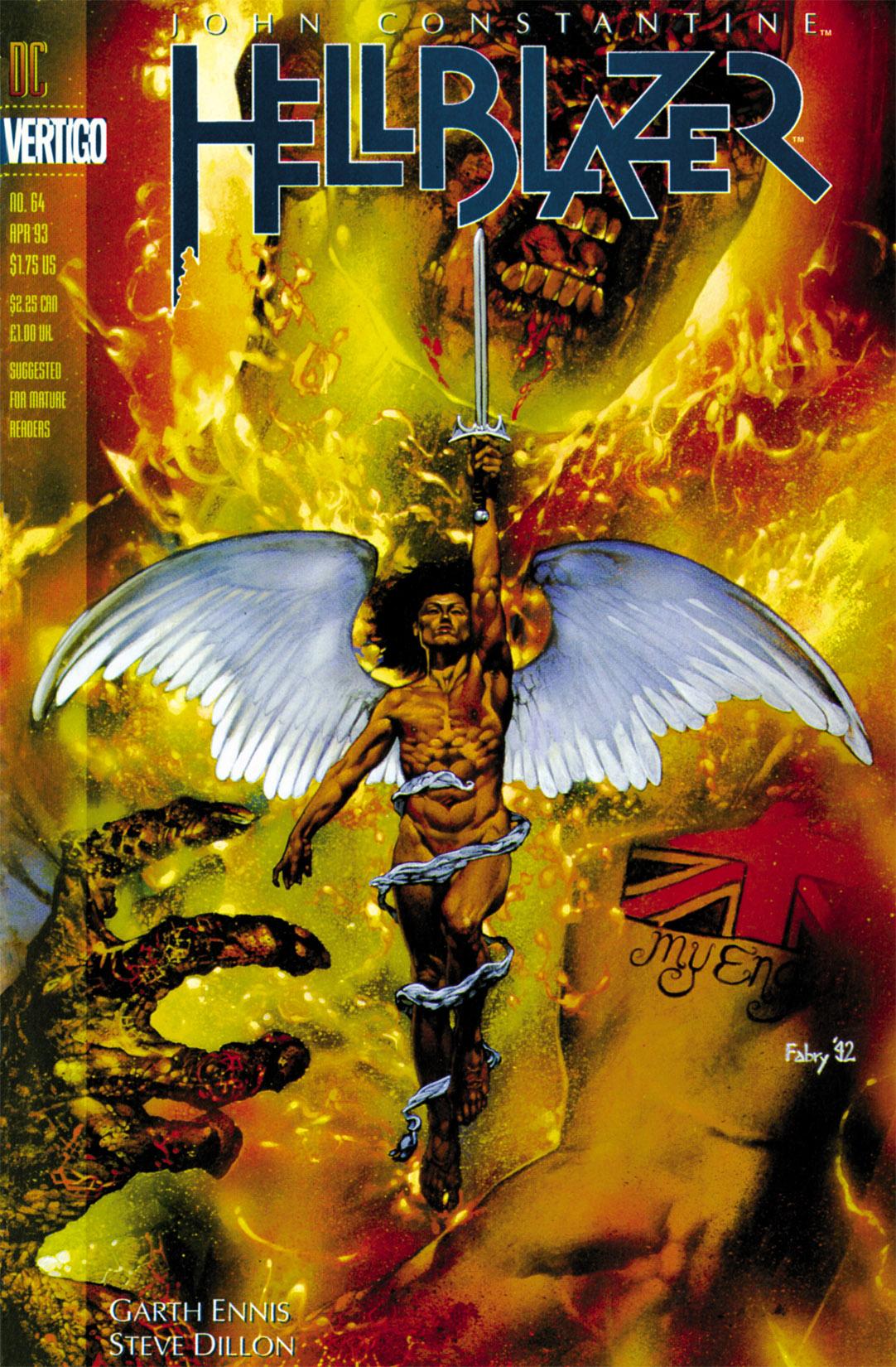 Hellblazer issue 64 - Page 1