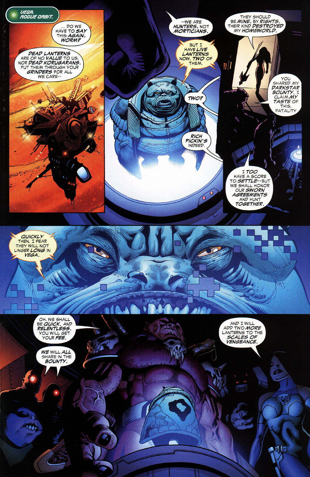 Read online Green Lantern Corps: Recharge comic -  Issue #3 - 9
