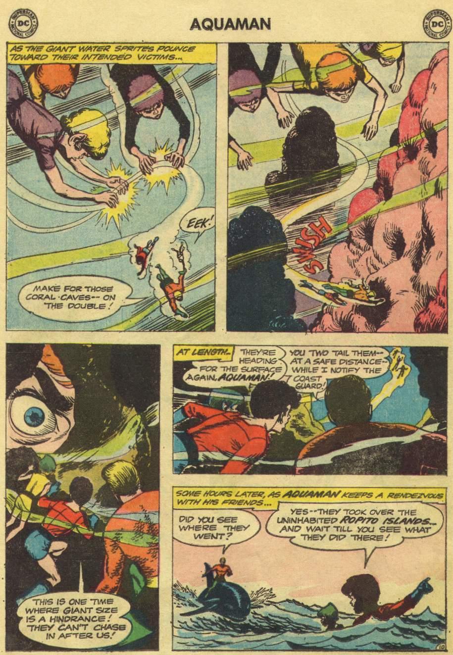 Aquaman (1962) Issue #10 #10 - English 14