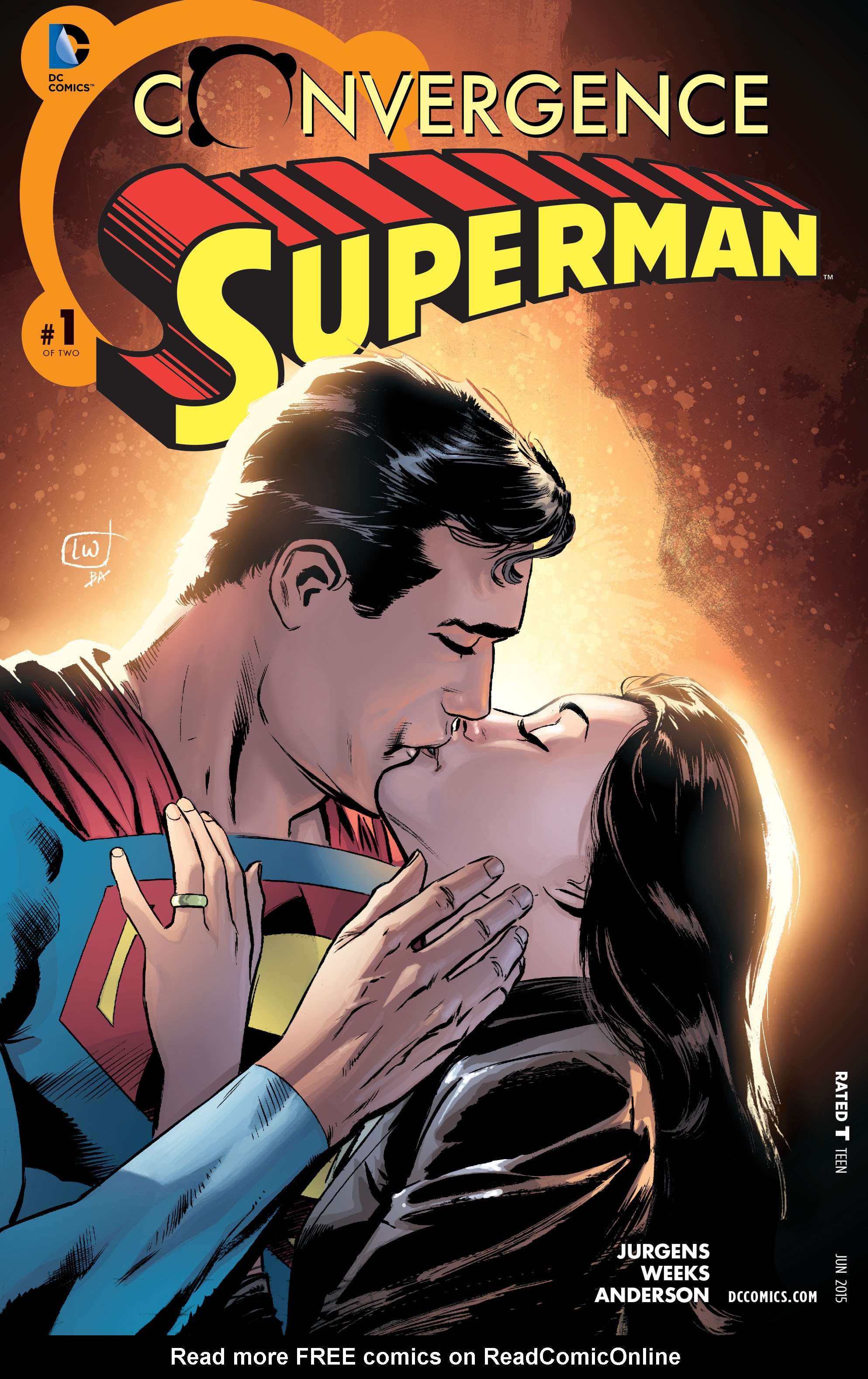 Read online Convergence Superman comic -  Issue #1 - 1