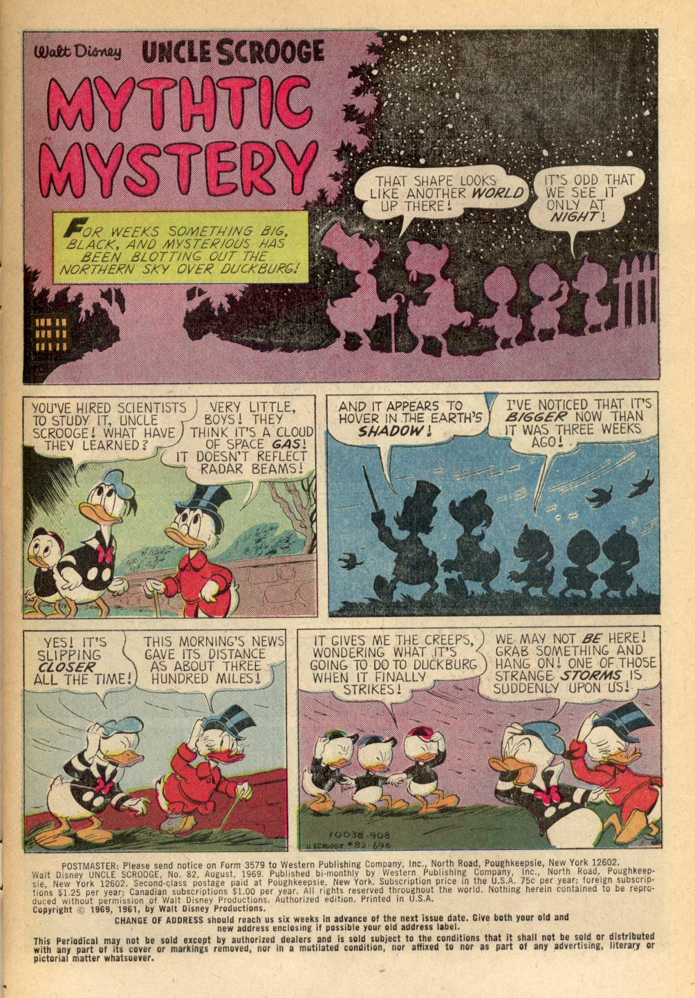 Uncle Scrooge (1953) Issue #82 #82 - English 3