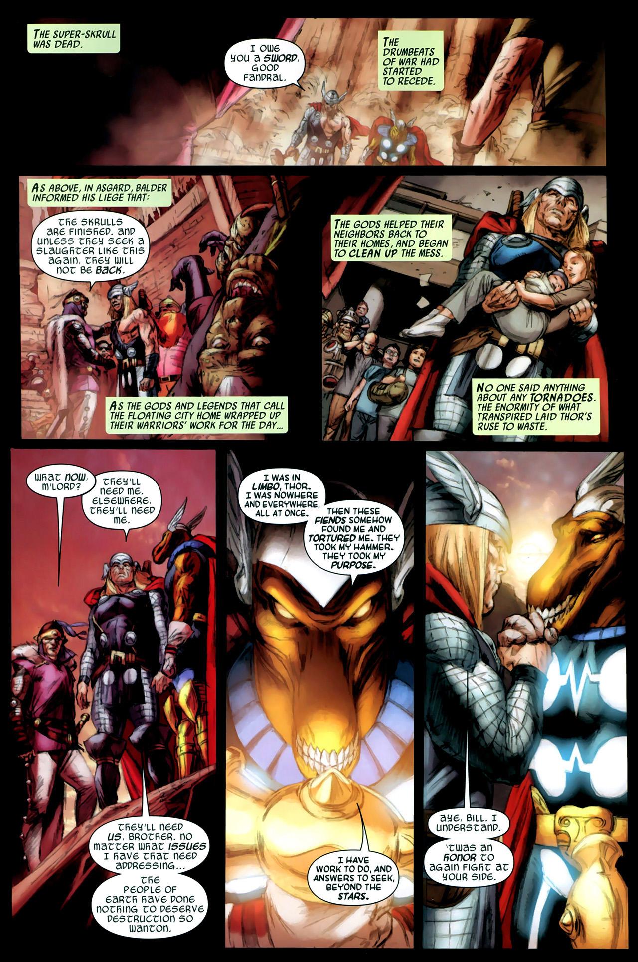 Read online Secret Invasion: Thor comic -  Issue #3 - 23