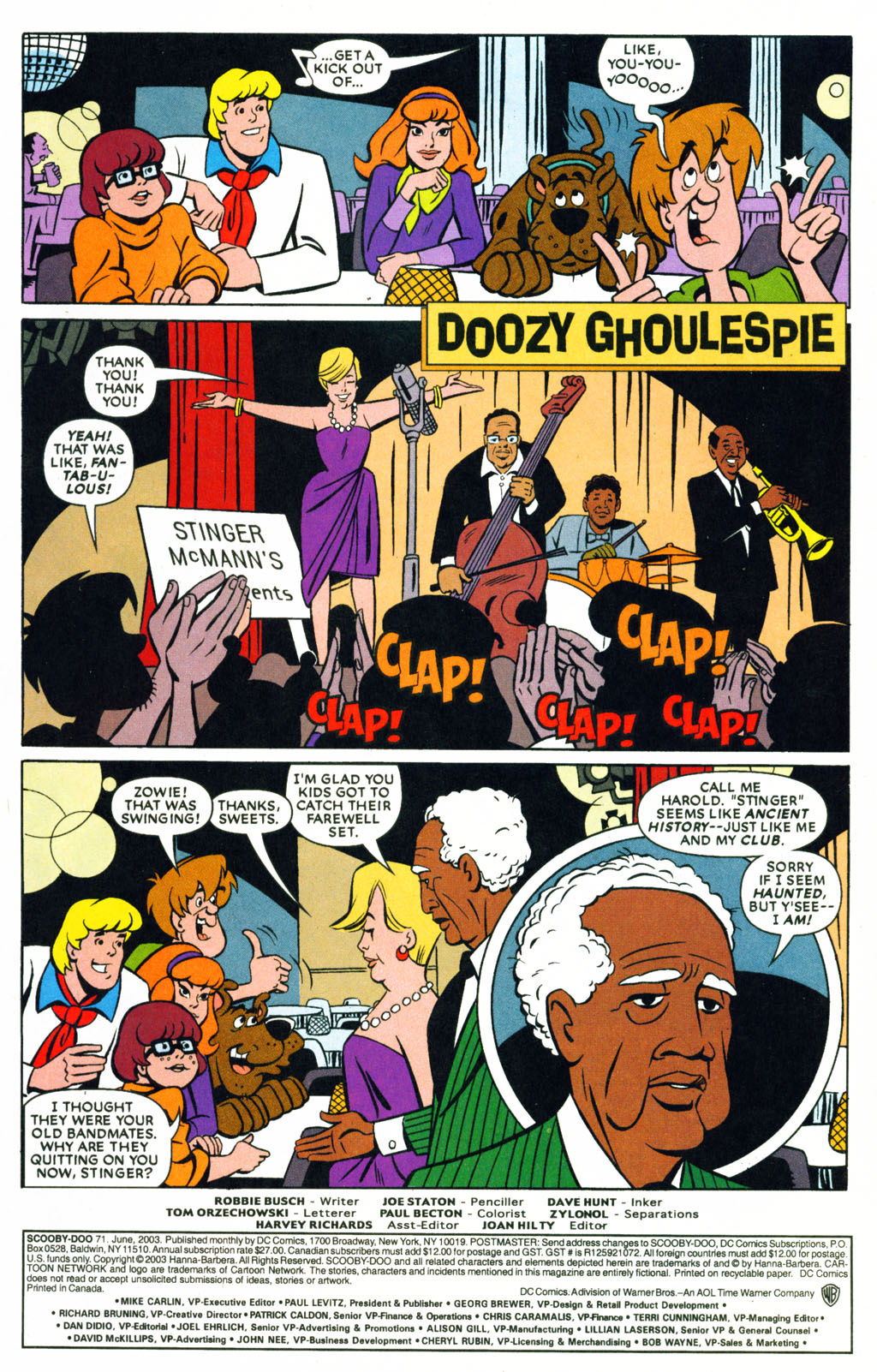 Read online Scooby-Doo (1997) comic -  Issue #71 - 2