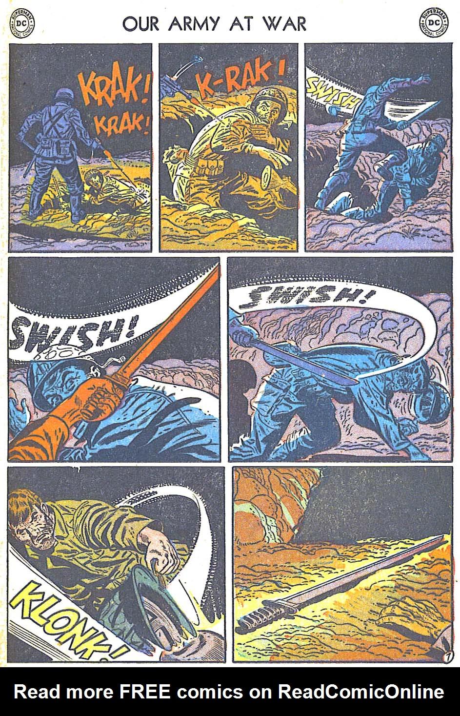 at War (1952) Issue #248 #301 - English 17