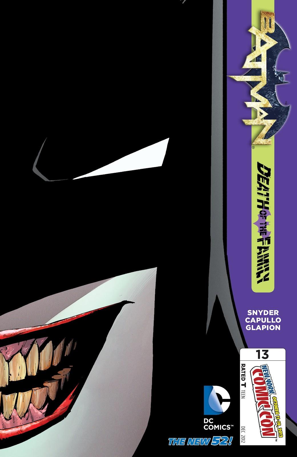Batman (2011) Issue #13 #28 - English 34