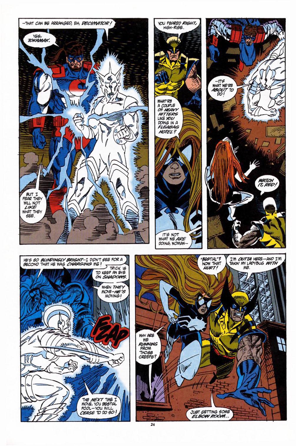 Read online Secret Defenders comic -  Issue #1 - 19