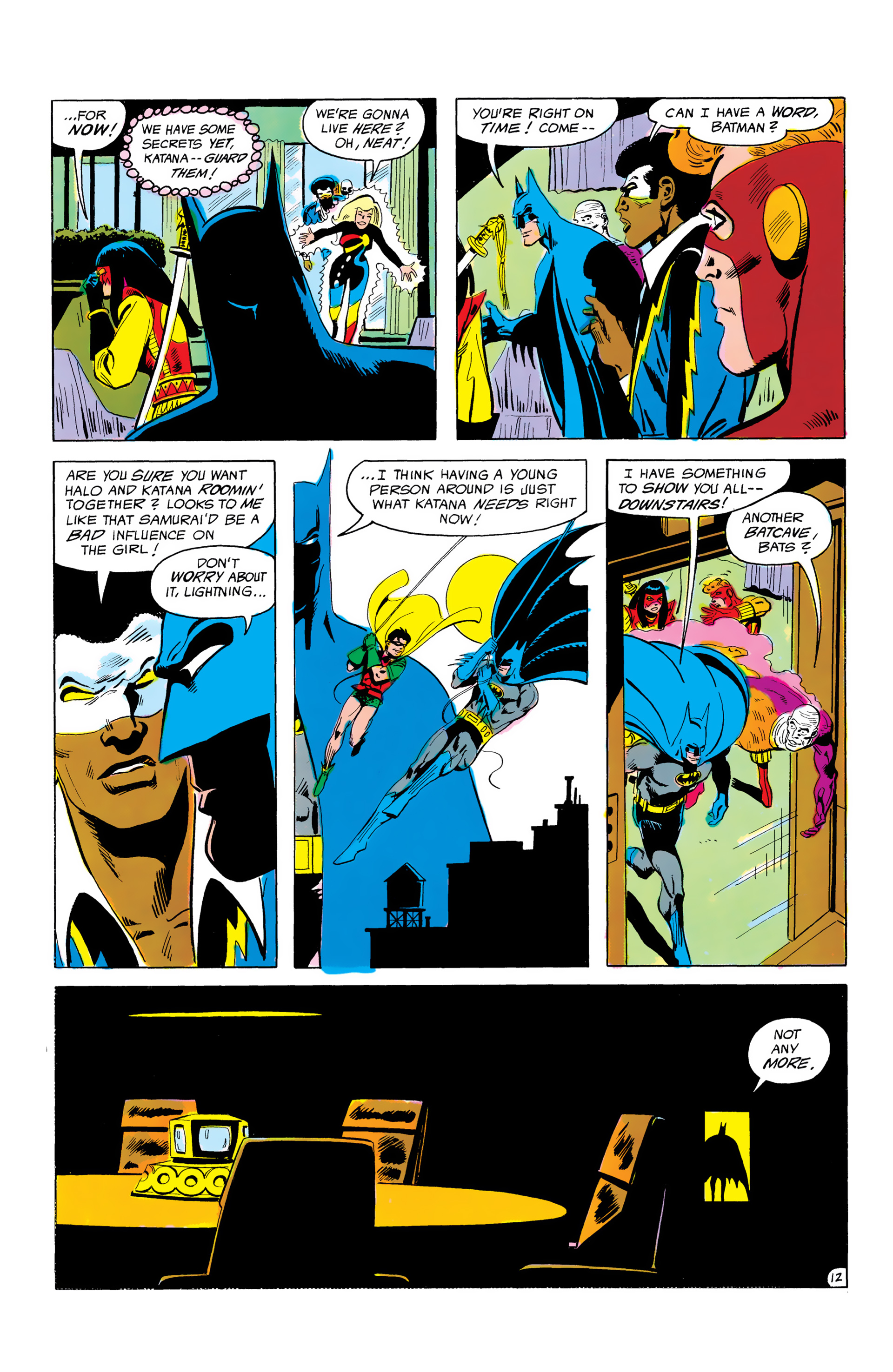 Batman and the Outsiders (1983) 3 Page 12