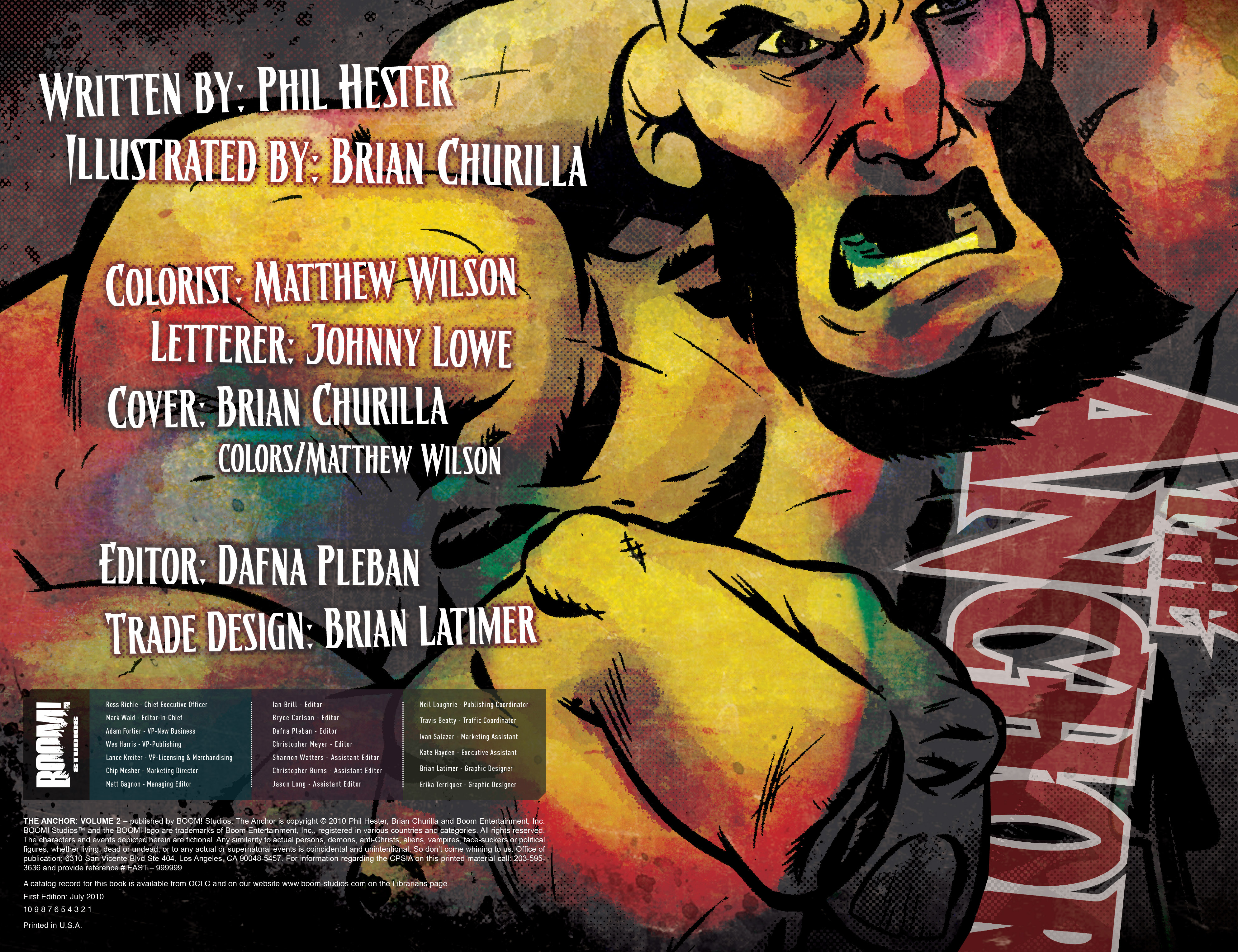 Read online The Anchor comic -  Issue # TPB 2 - 3