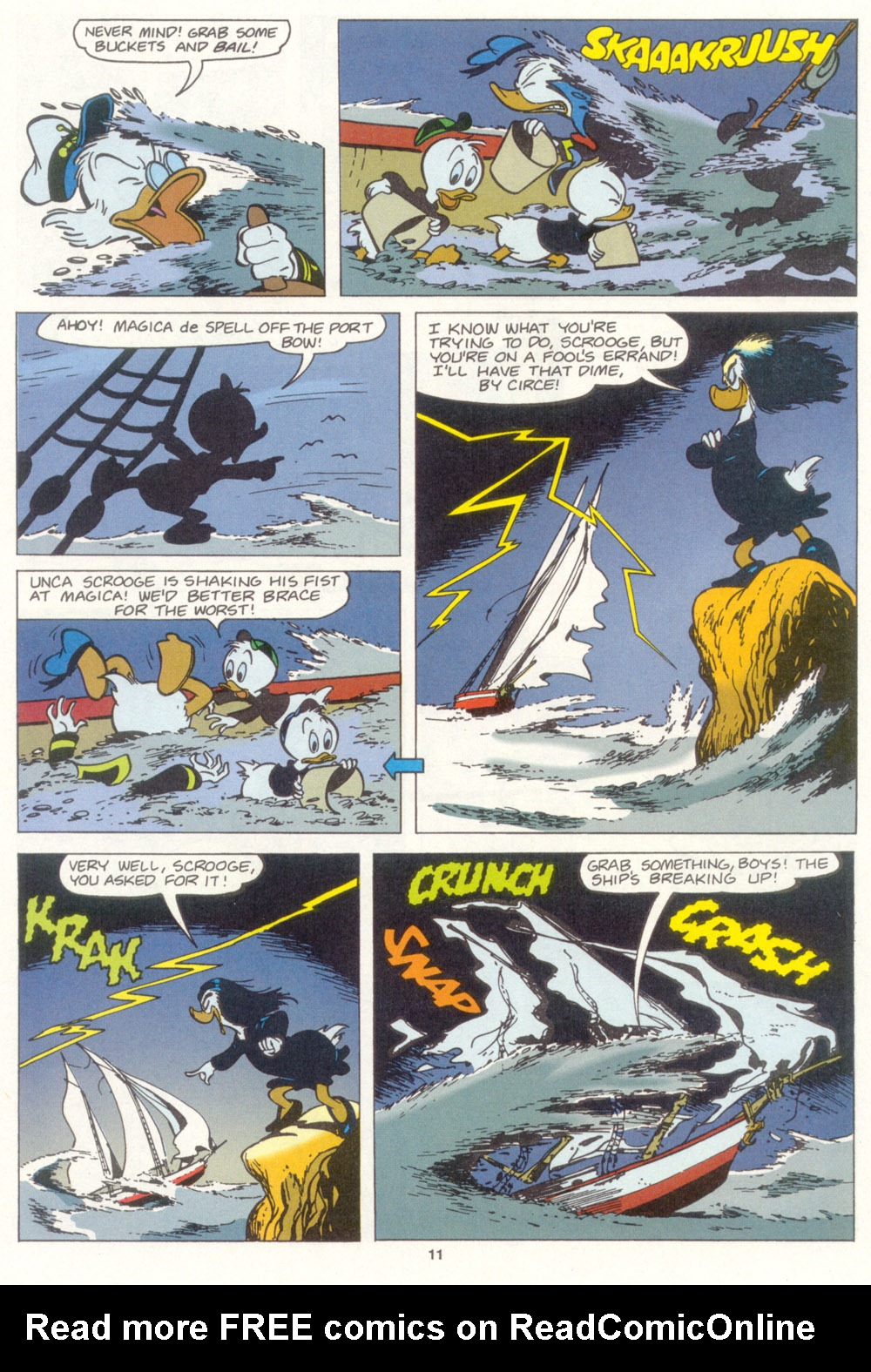 Uncle Scrooge (1953) Issue #267 #267 - English 12