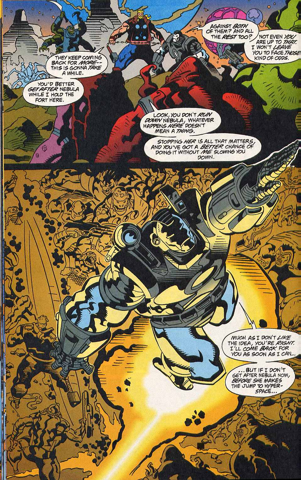 Read online Secret Defenders comic -  Issue #10 - 11
