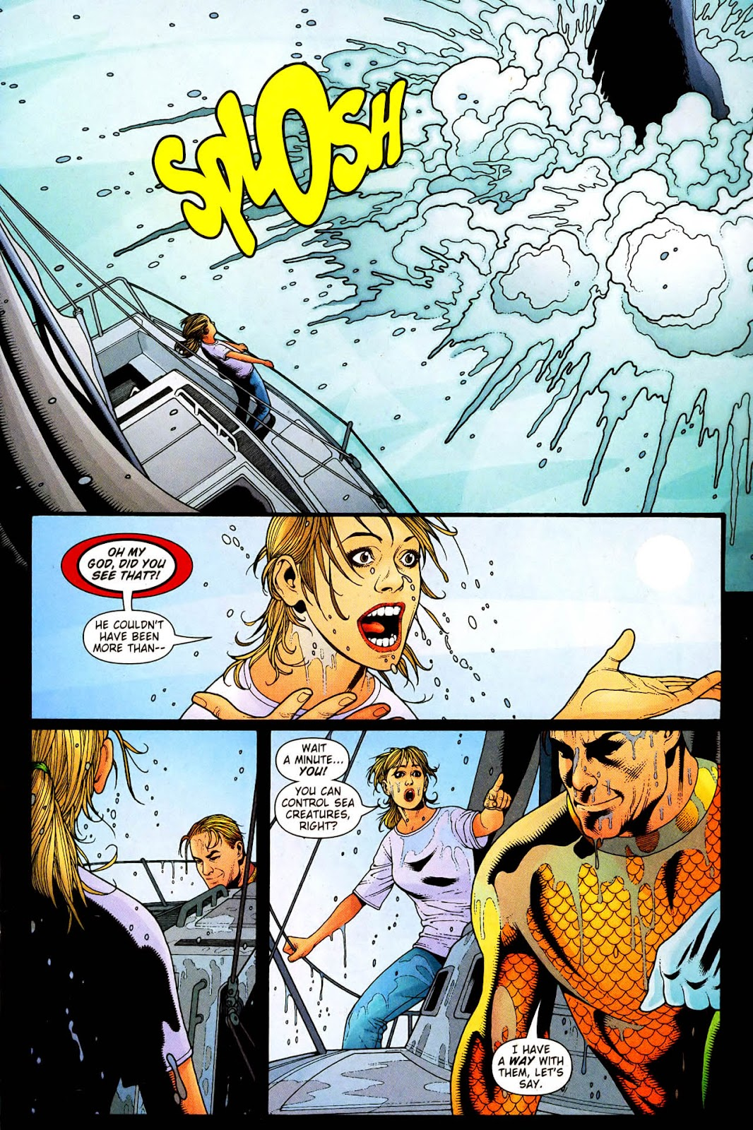 Aquaman (2003) Issue #33 #33 - English 4