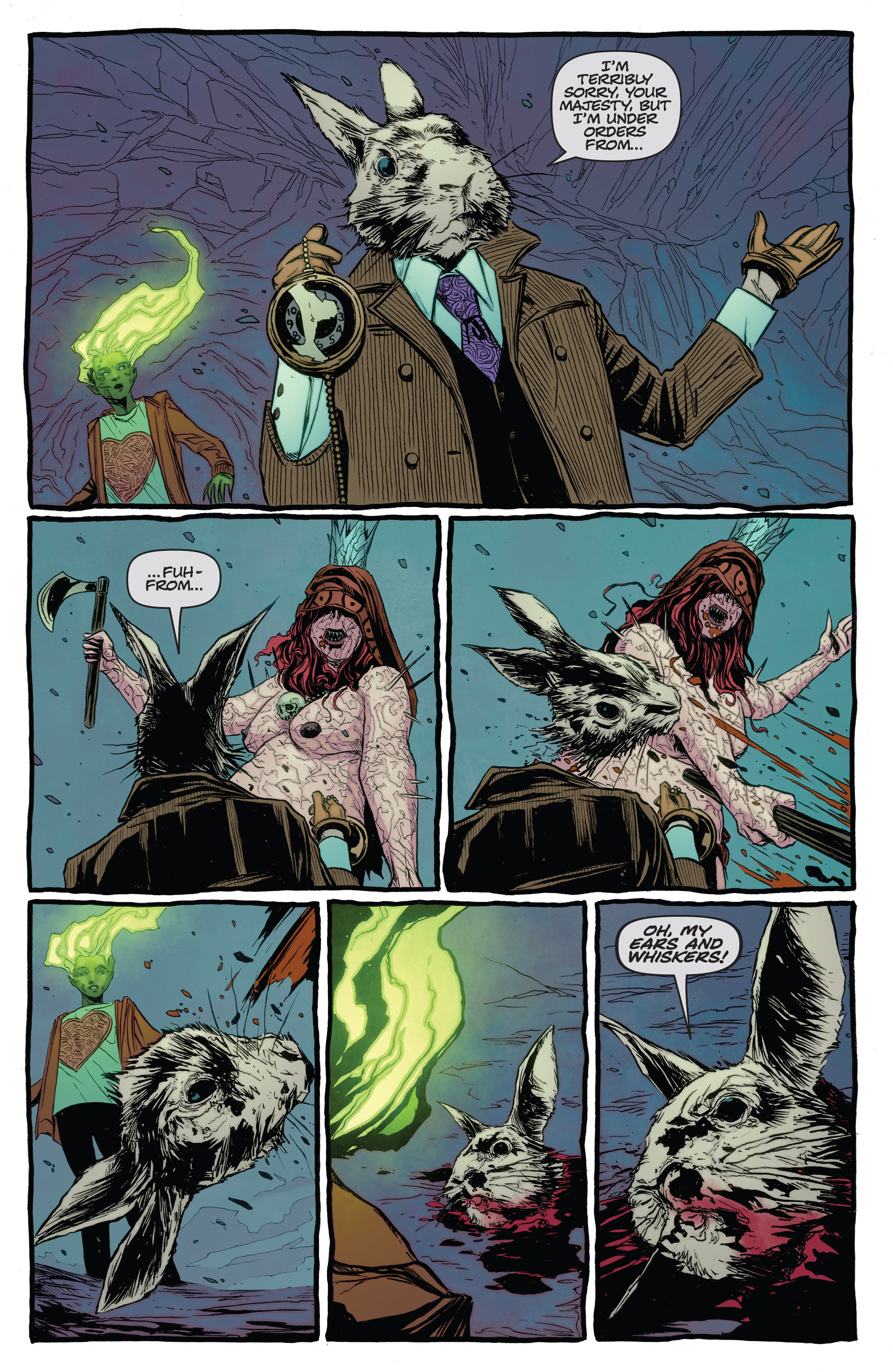 Read online The Darkness (2007) comic -  Issue #113 - 10