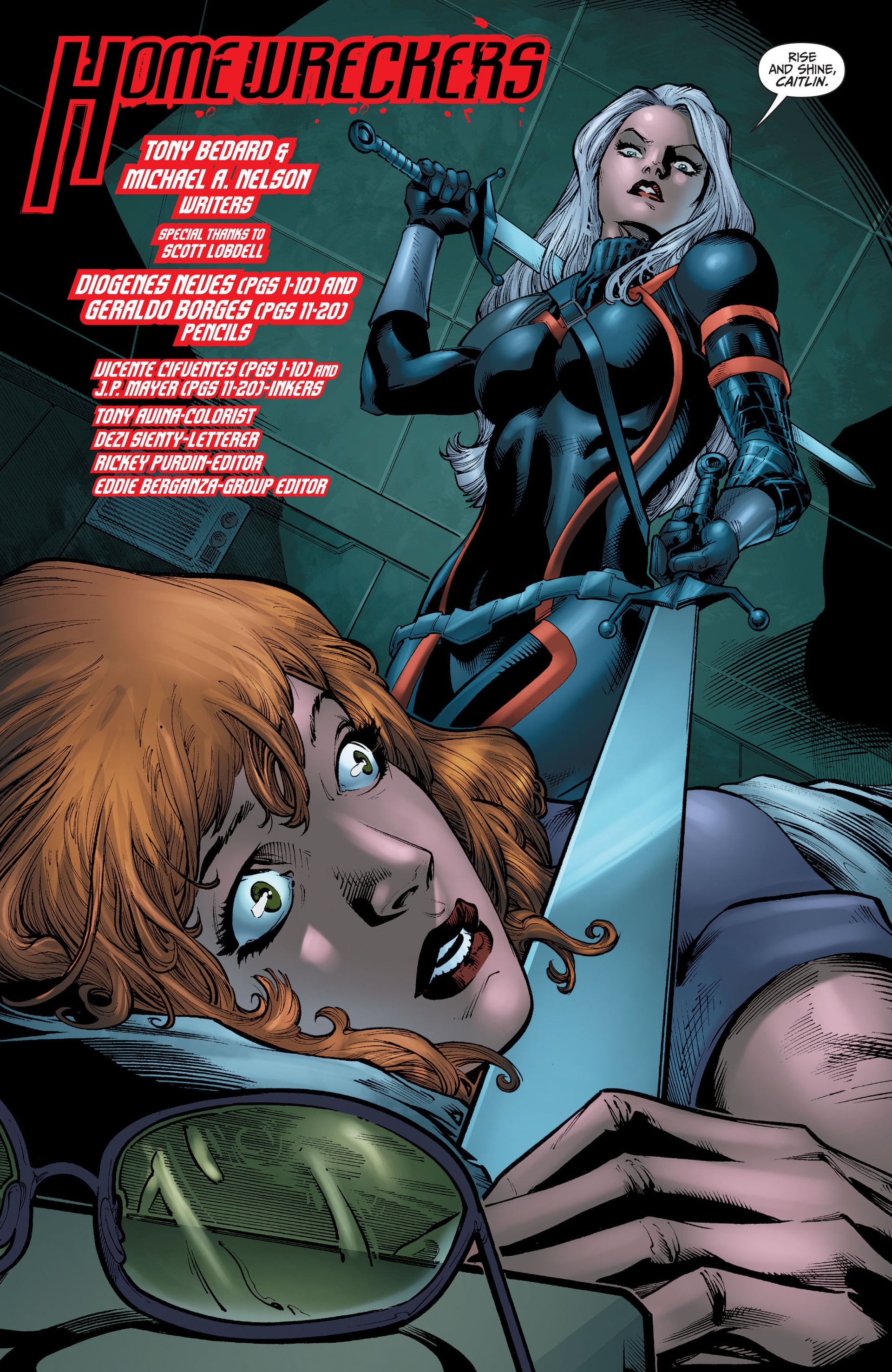 Read online The Ravagers comic -  Issue #11 - 4