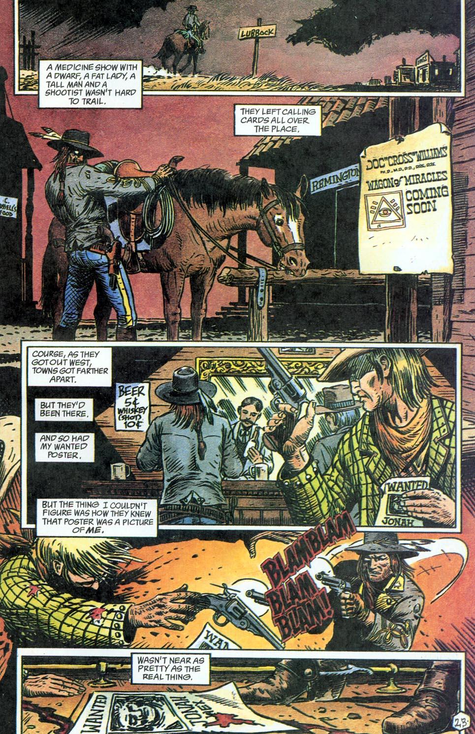 Jonah Hex: Two-Gun Mojo Issue #4 #4 - English 25