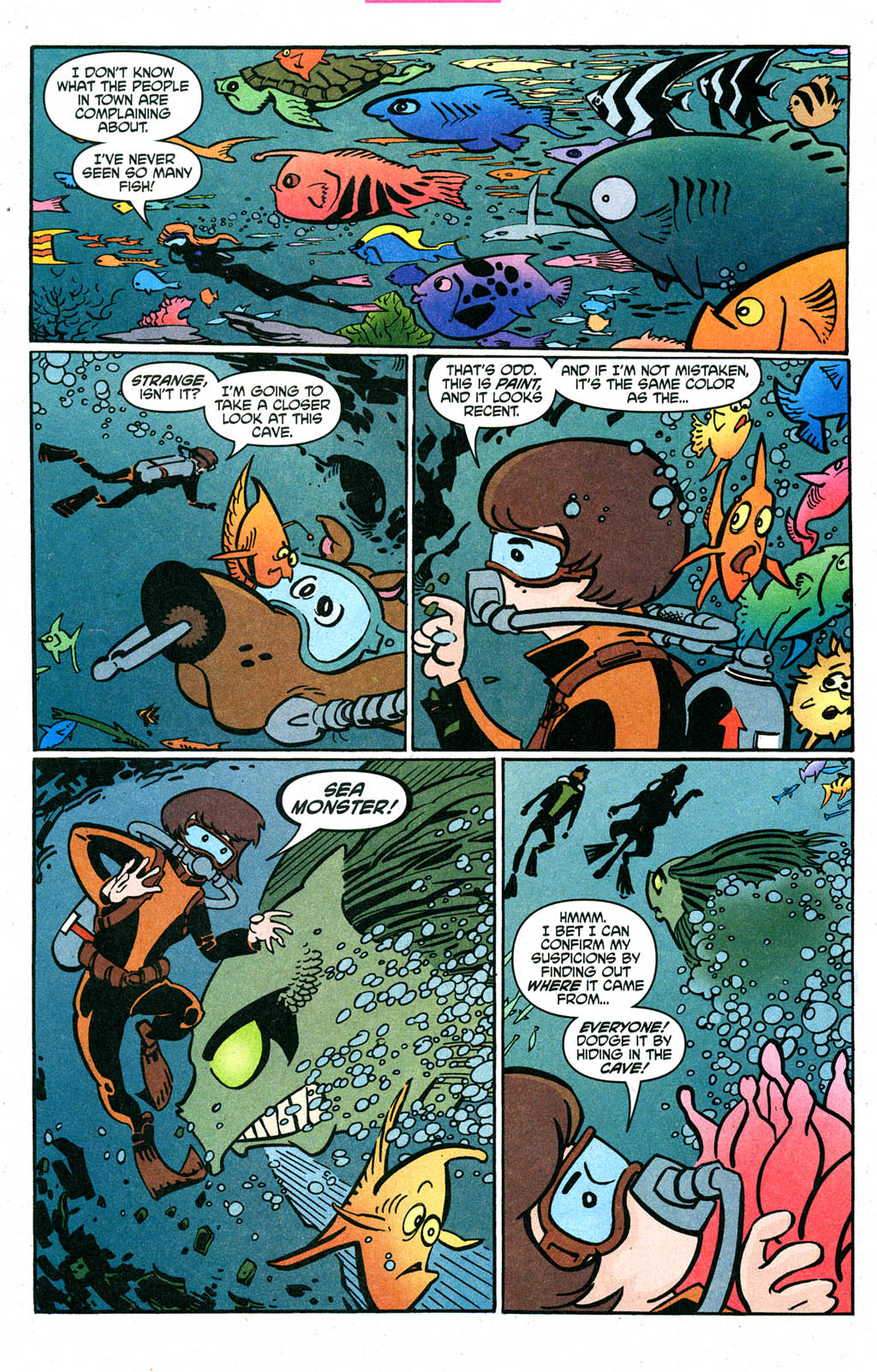 Read online Scooby-Doo (1997) comic -  Issue #90 - 17
