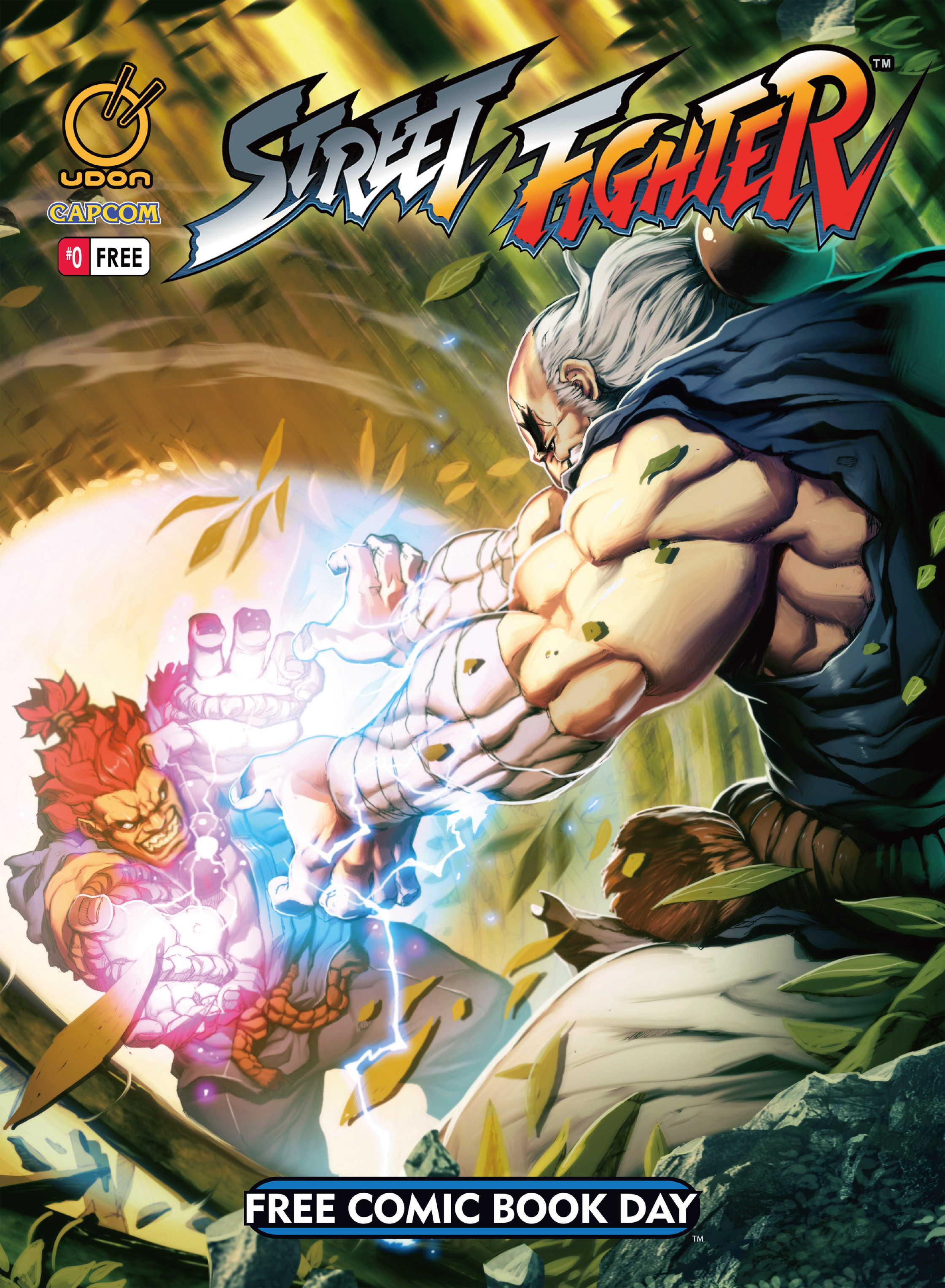 FCBD 2014 Street Fighter   issue Full - Page 1