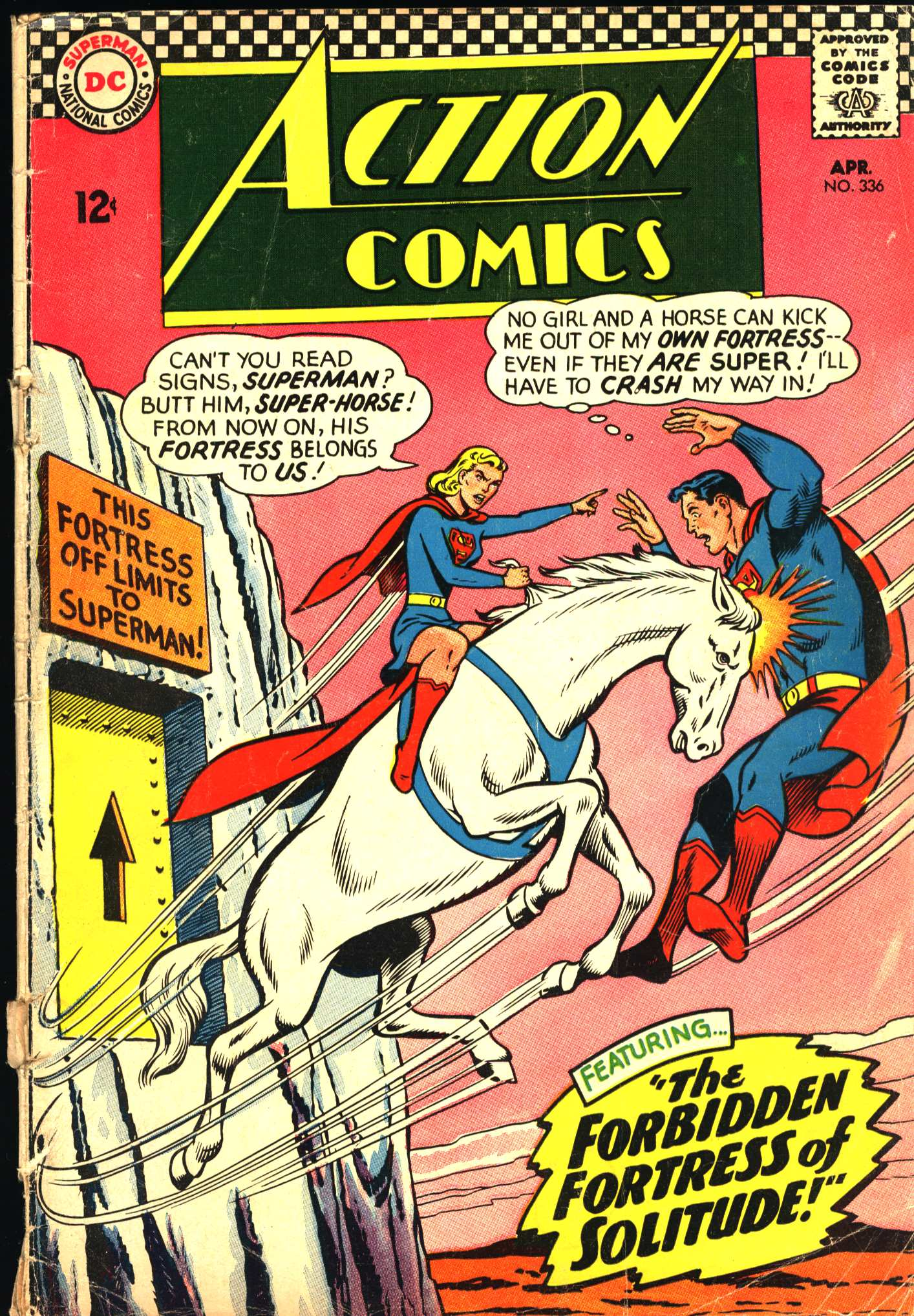 Action Comics (1938) 336 Page 1