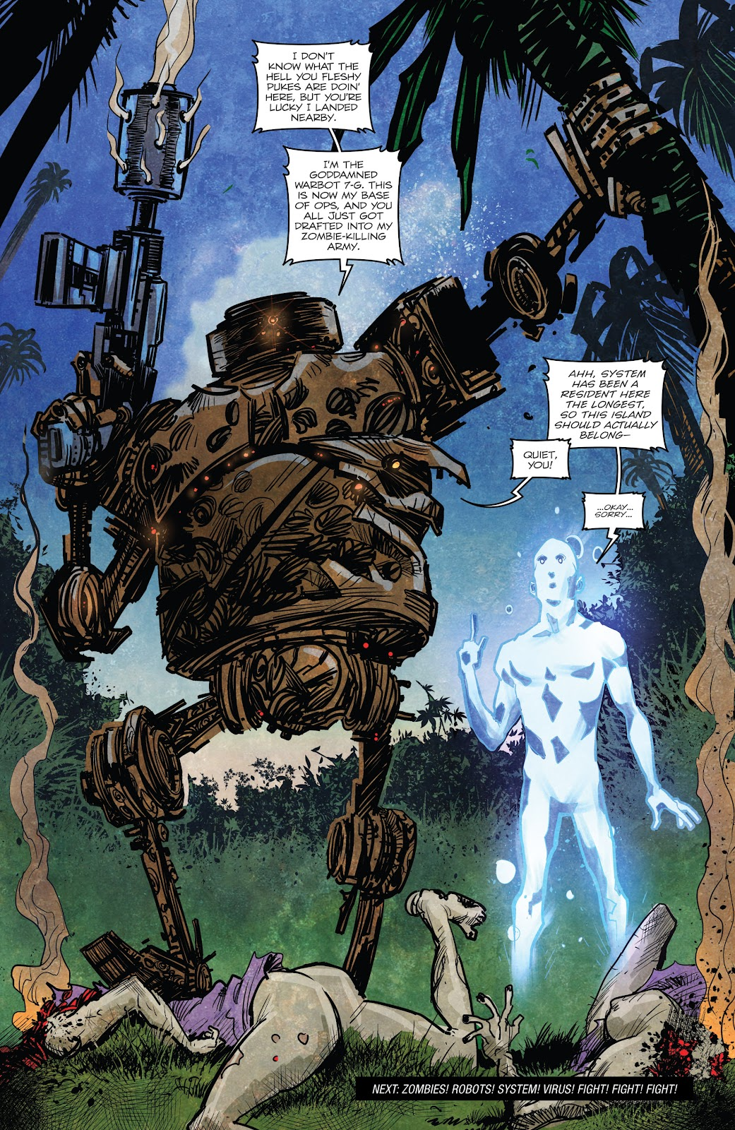 Zombies vs Robots (2015) Issue #5 Page 13