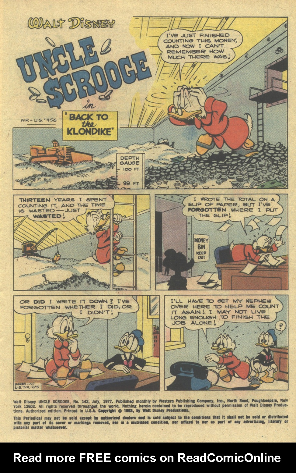 Uncle Scrooge (1953) Issue #142 #142 - English 3