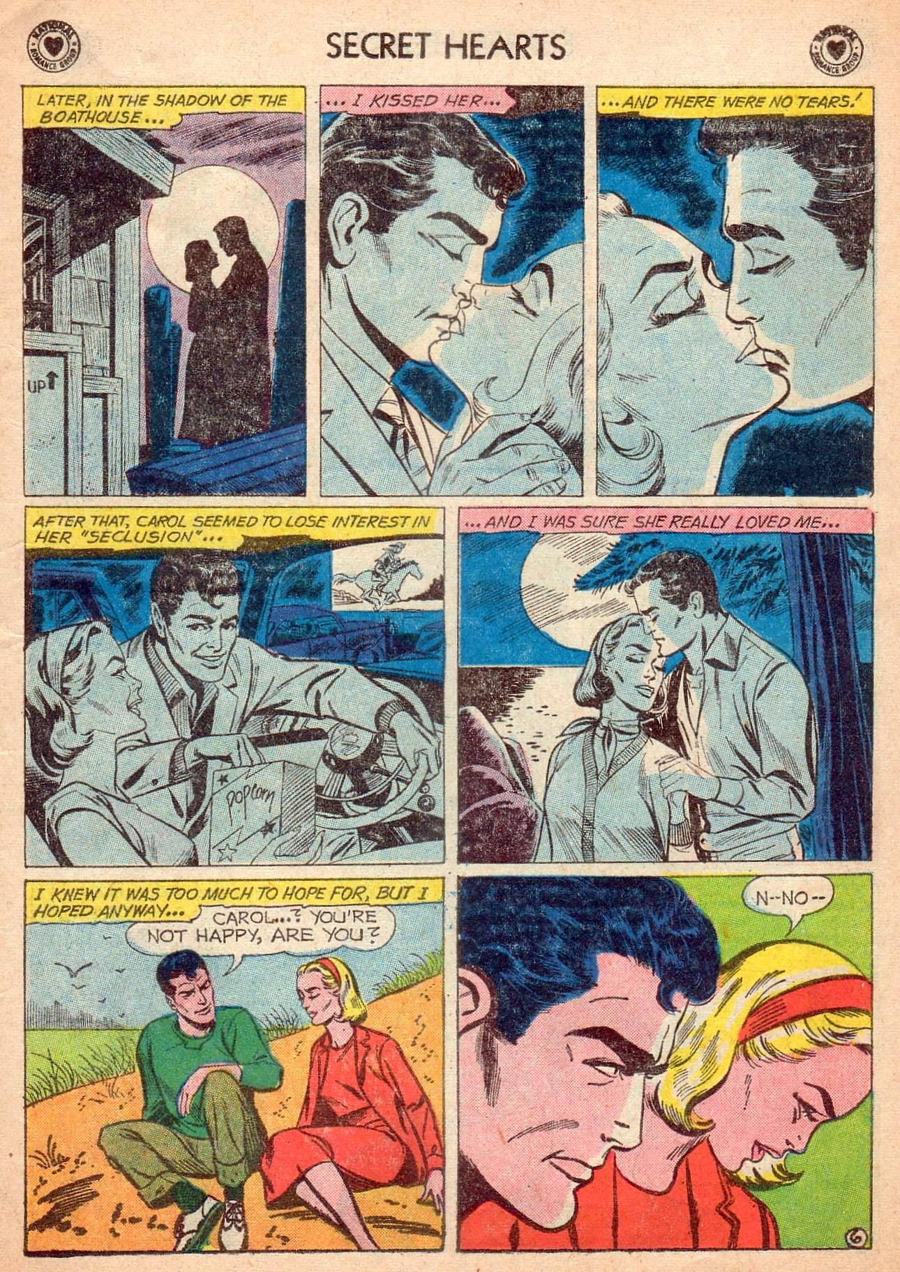 Read online Secret Hearts comic -  Issue #63 - 15
