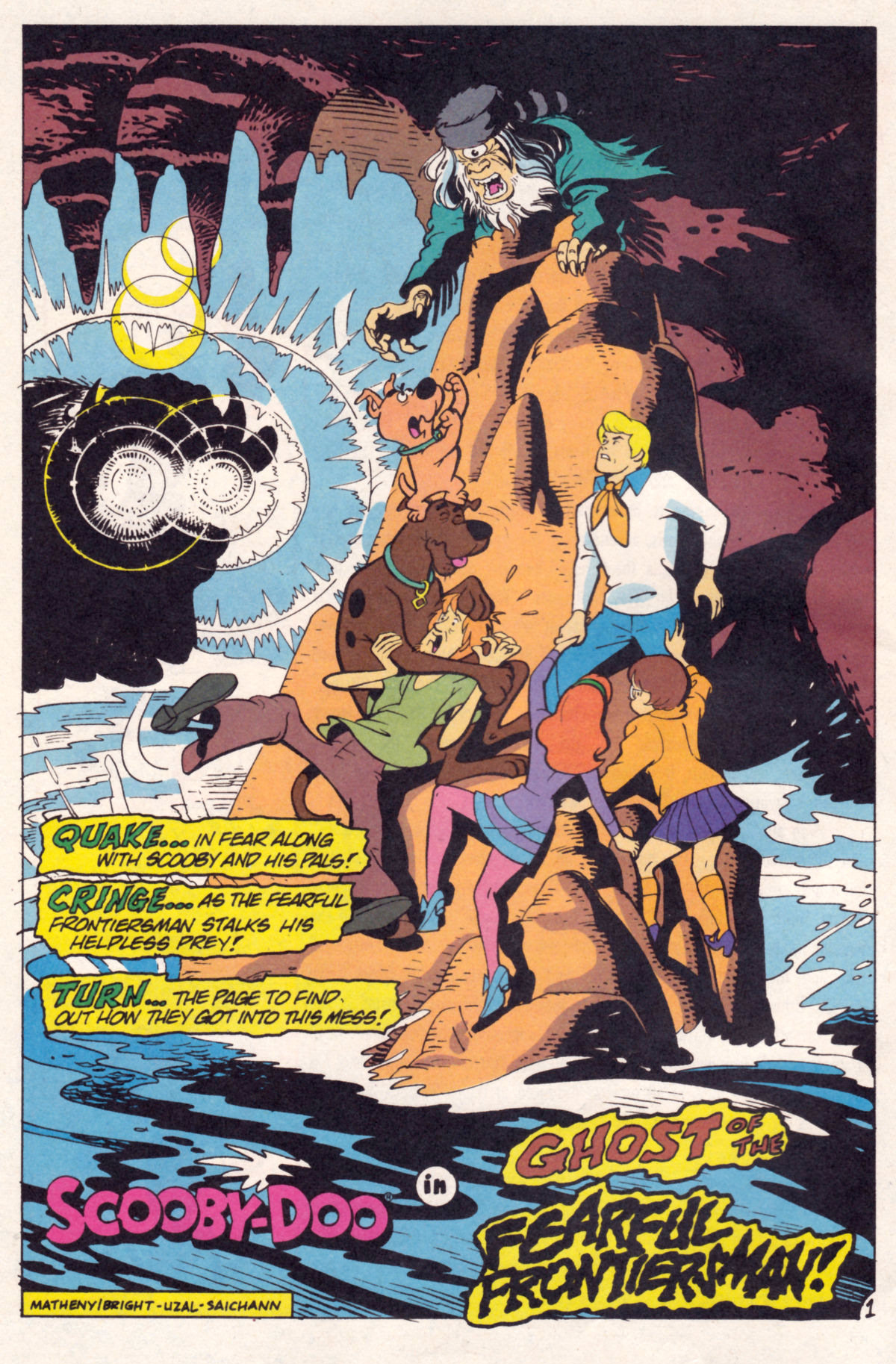 Read online Scooby-Doo (1995) comic -  Issue #12 - 3