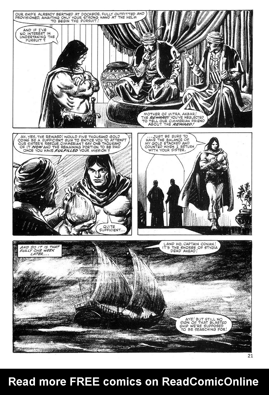The Savage Sword Of Conan Issue #89 #90 - English 21