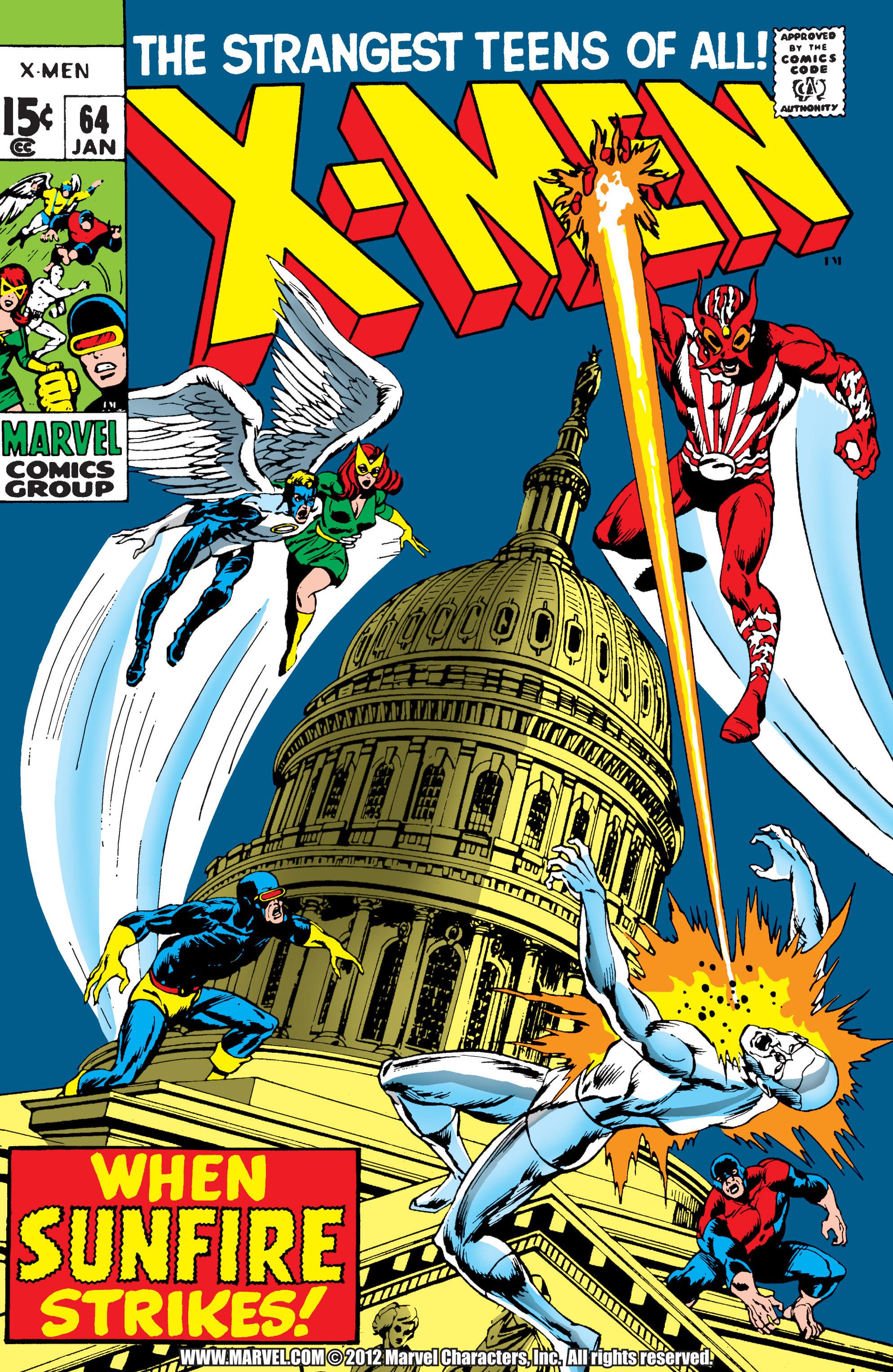 Uncanny X-Men (1963) 64 Page 1