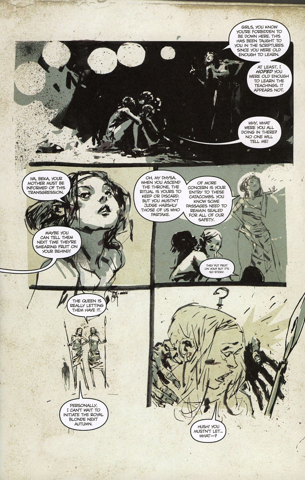 Zombies vs. Robots vs. Amazons Issue #1 Page 10